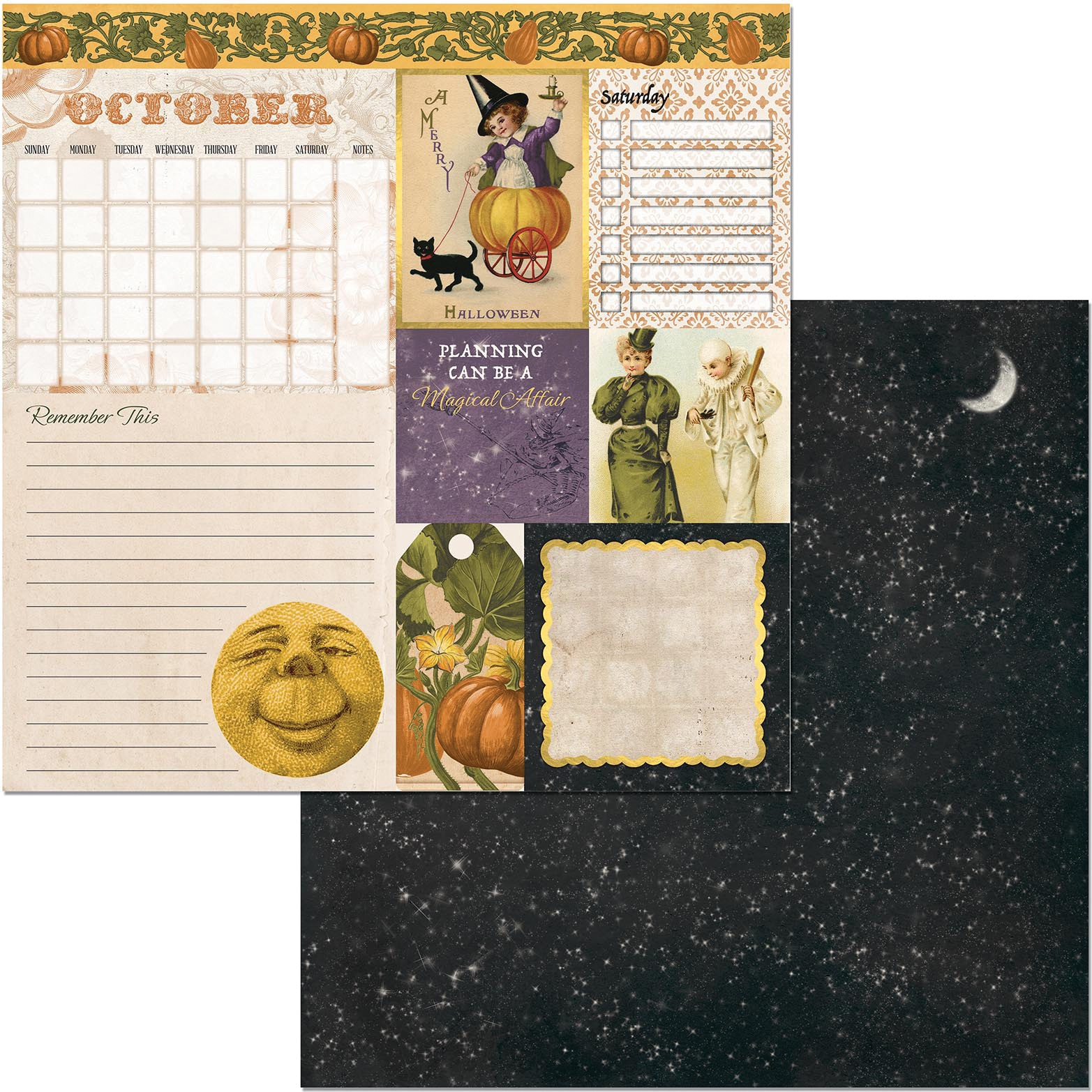 Banner Year October