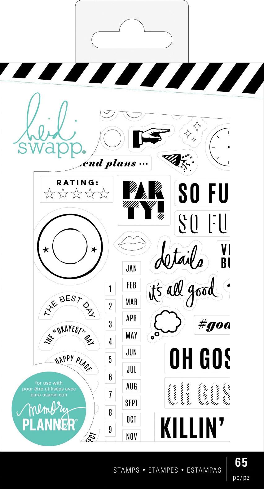 Heidi Swapp - Memory Planner Stamps