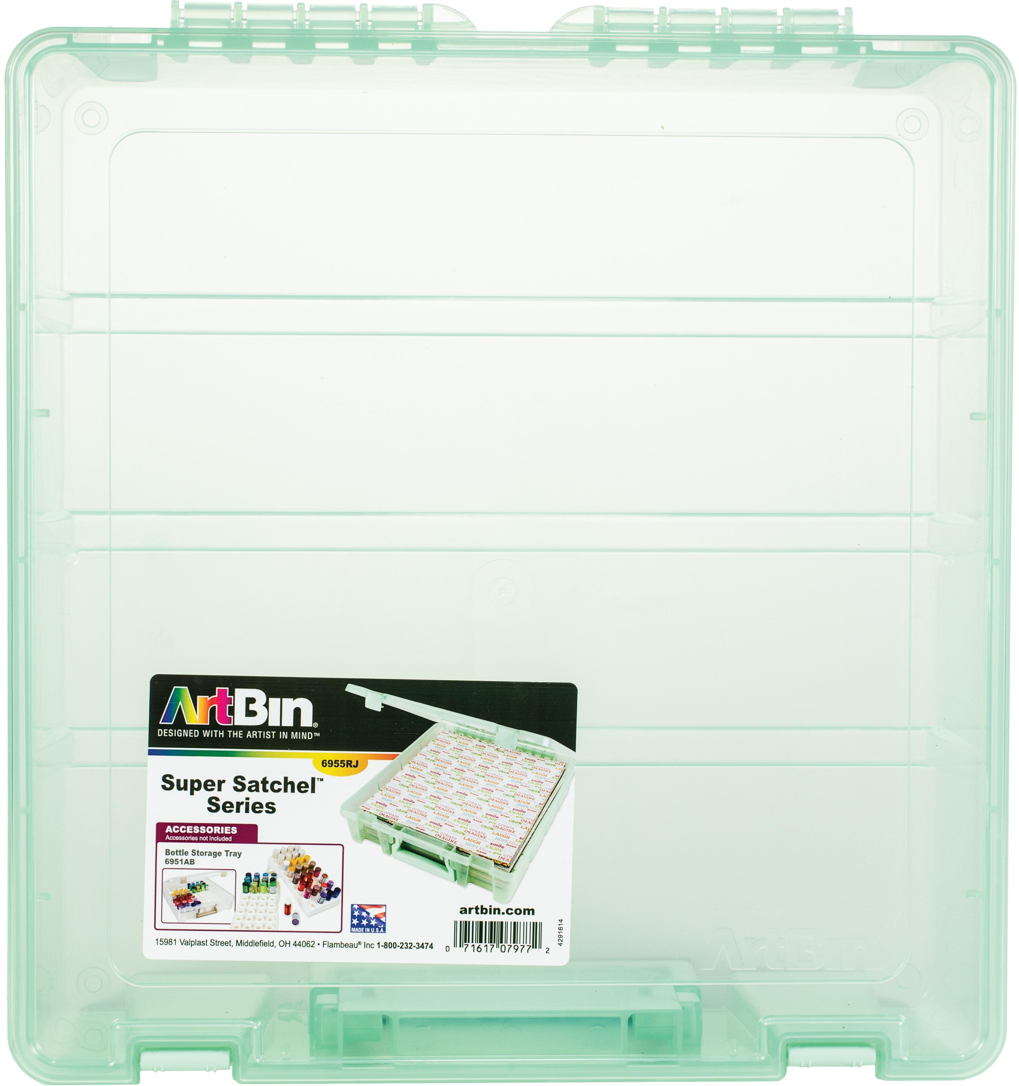 ArtBin Super Satchel Single Compartment-Mint, 15.25X14X3.5