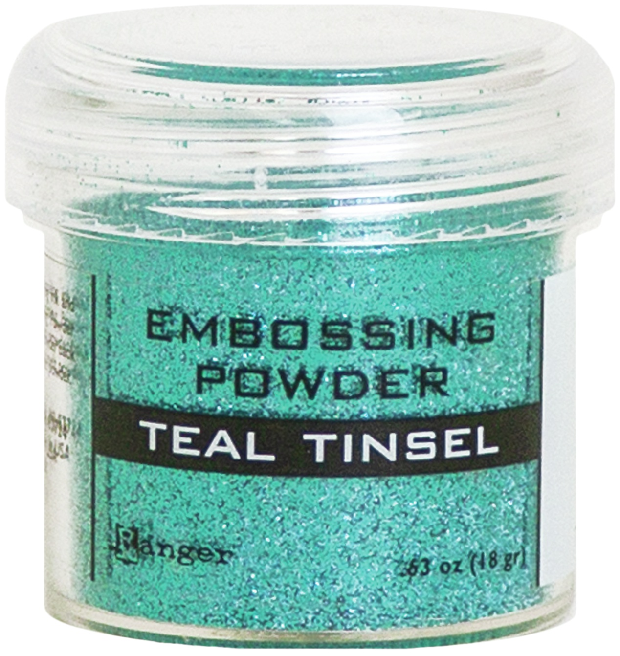 TEAL TINSL-EMBOSSING POWDER