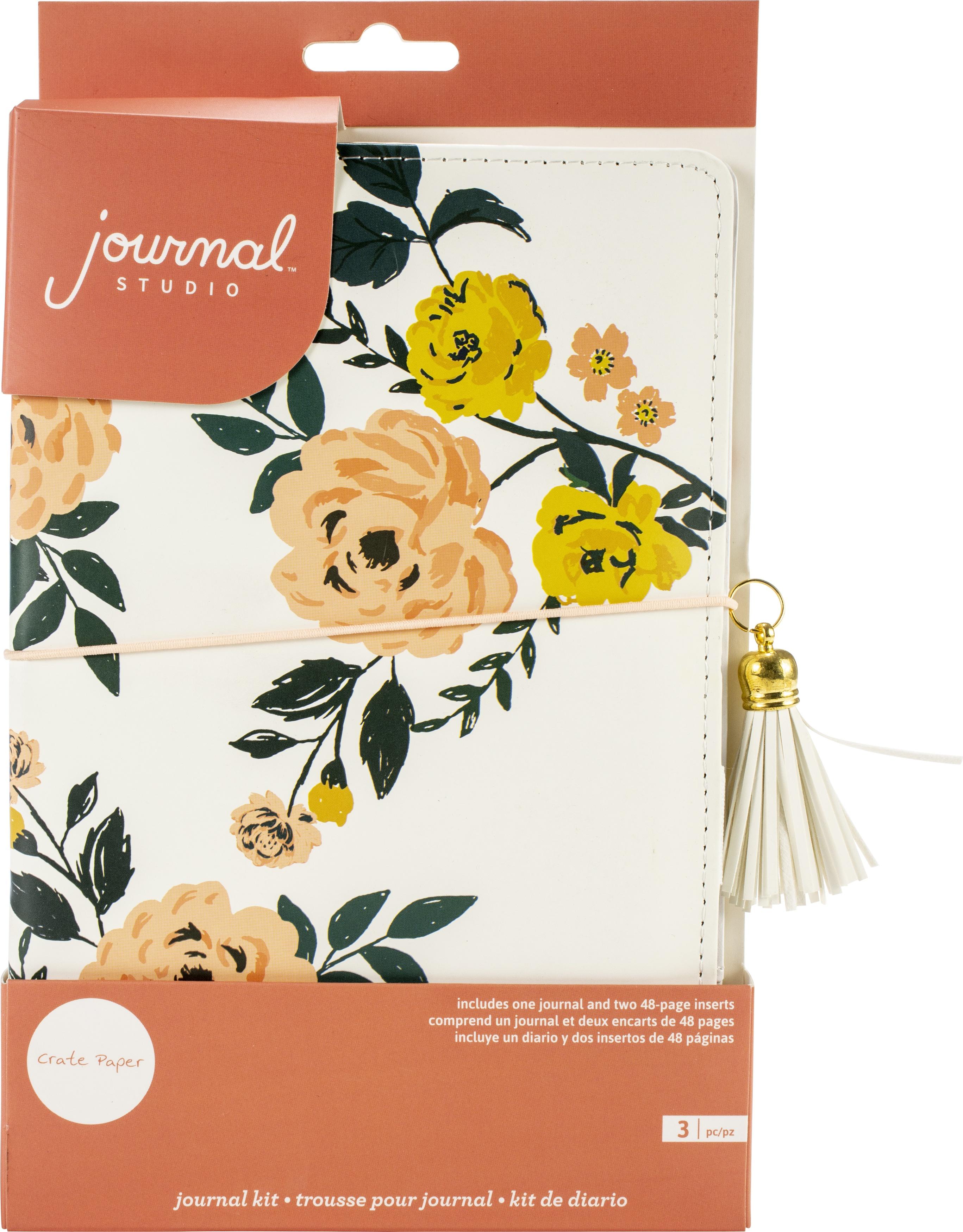Journal Studio - Rose Journal Kit (Crate Paper)