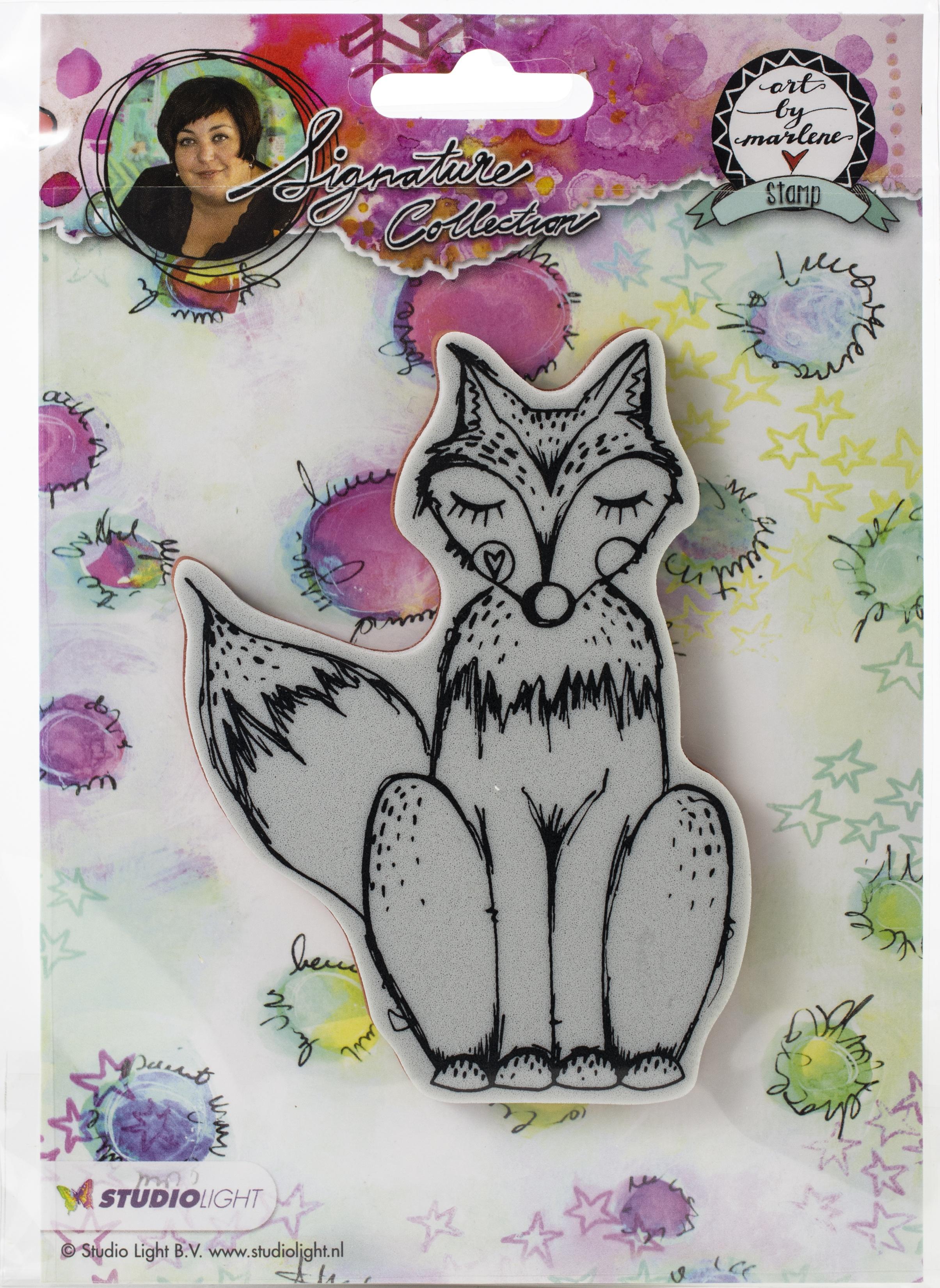 Studio Light Art By Marlene 2.0 Animals Cling Stamp-Fox