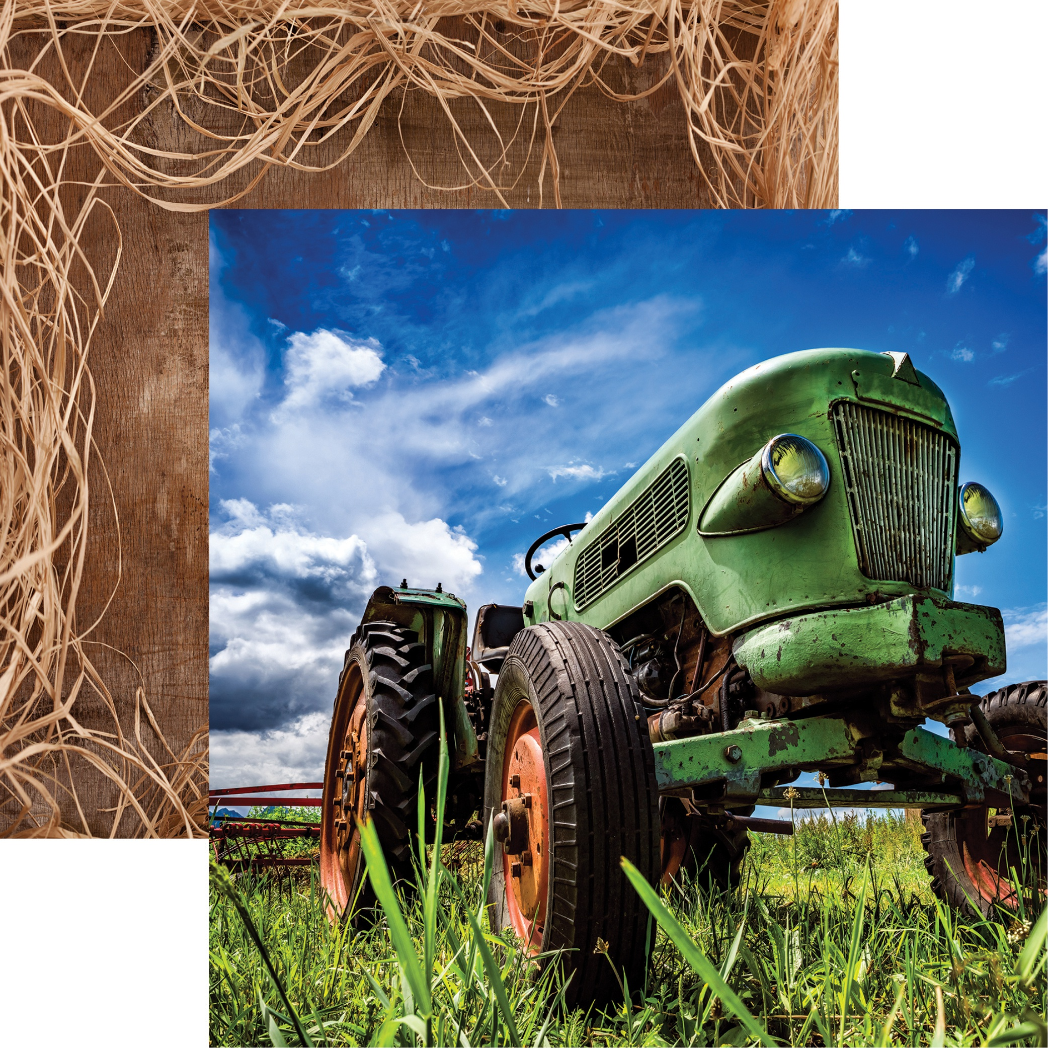Farm Fresh Double-Sided Cardstock 12X12-Hey Y'all