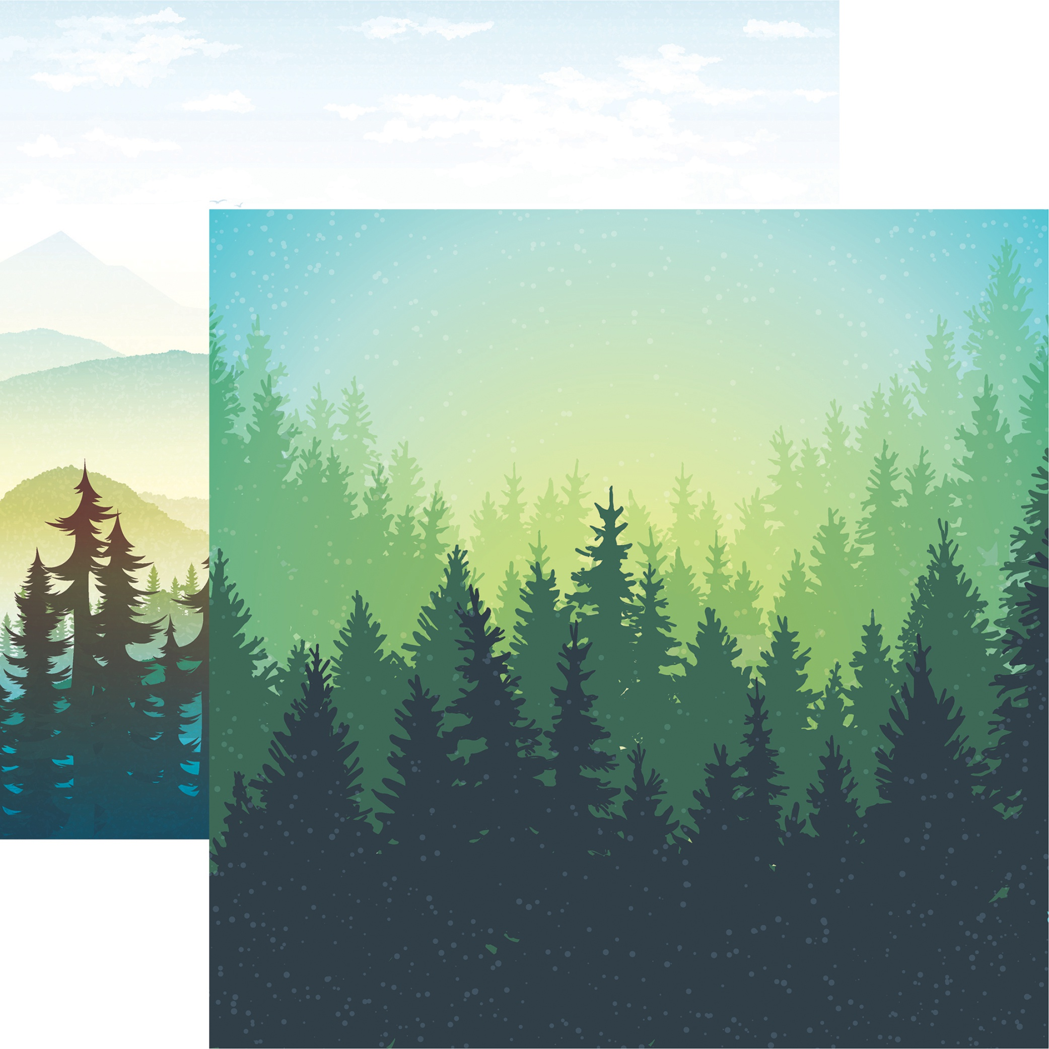 Scenic View Double-Sided Cardstock 12X12-Outdoor Adventure