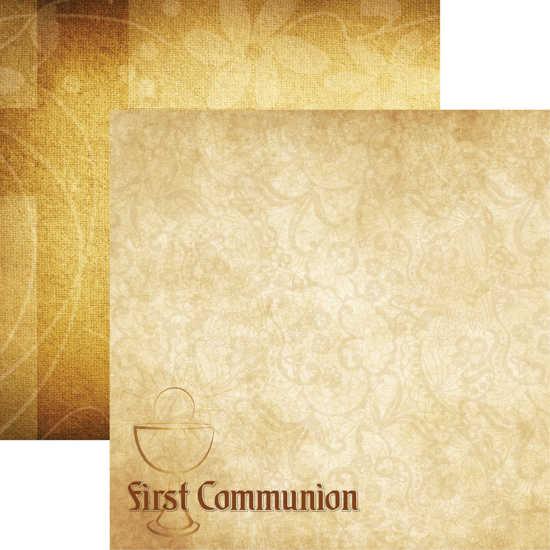 Rites Of Passage Double-Sided Cardstock 12X12-First Communion