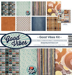 Good Vibes - 12x12 Collection Kit (Reminisce)