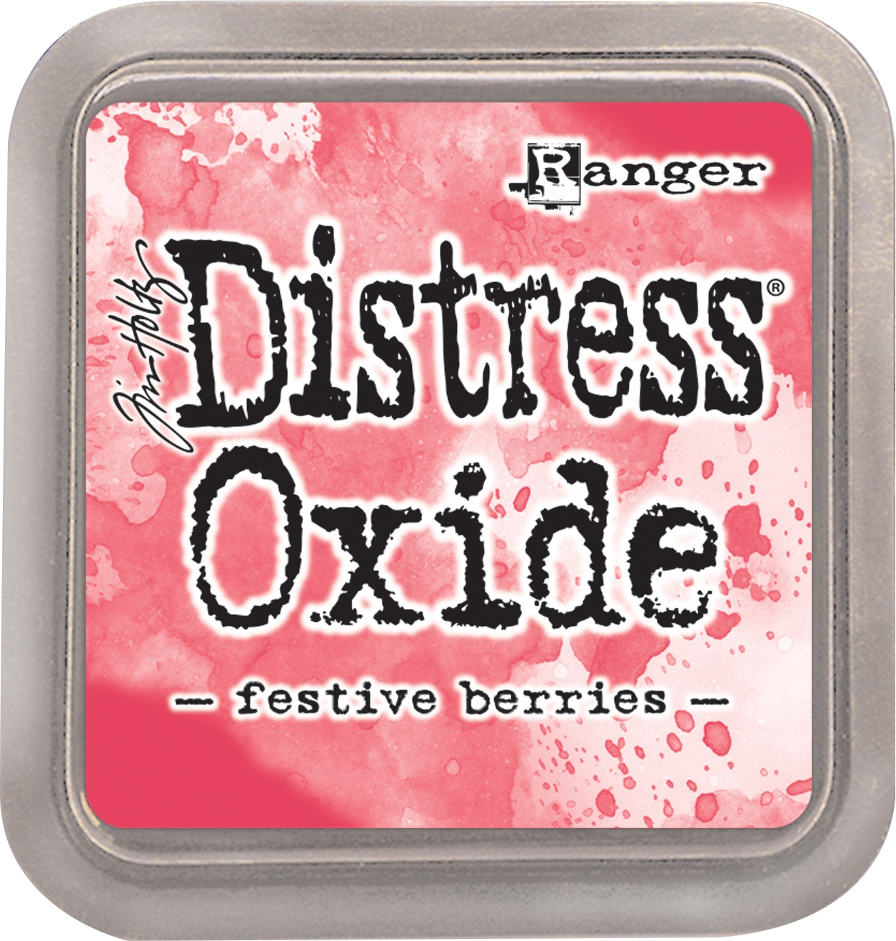 Tim Holtz Distress Oxides Ink Pad-Festive Berries