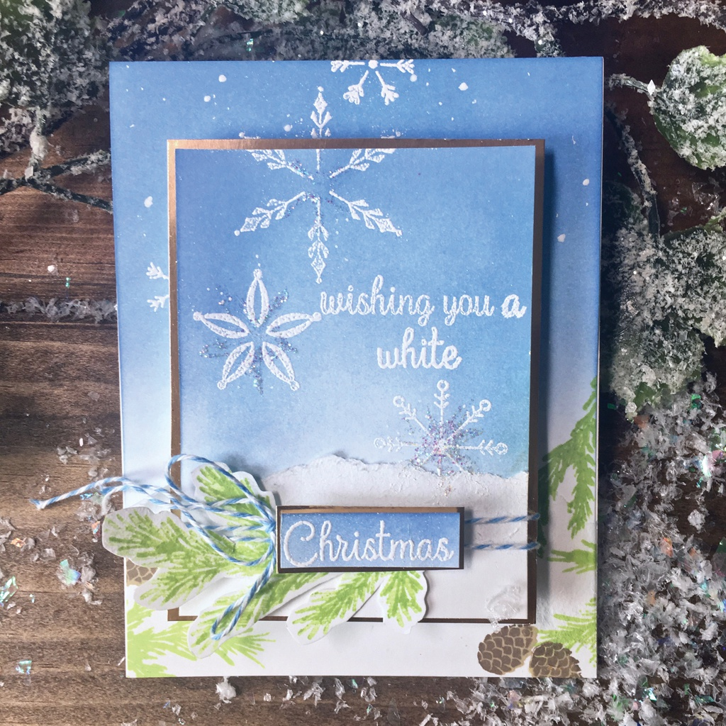 Hero Arts Clear Stamps 4X6-Stacking Snowflakes