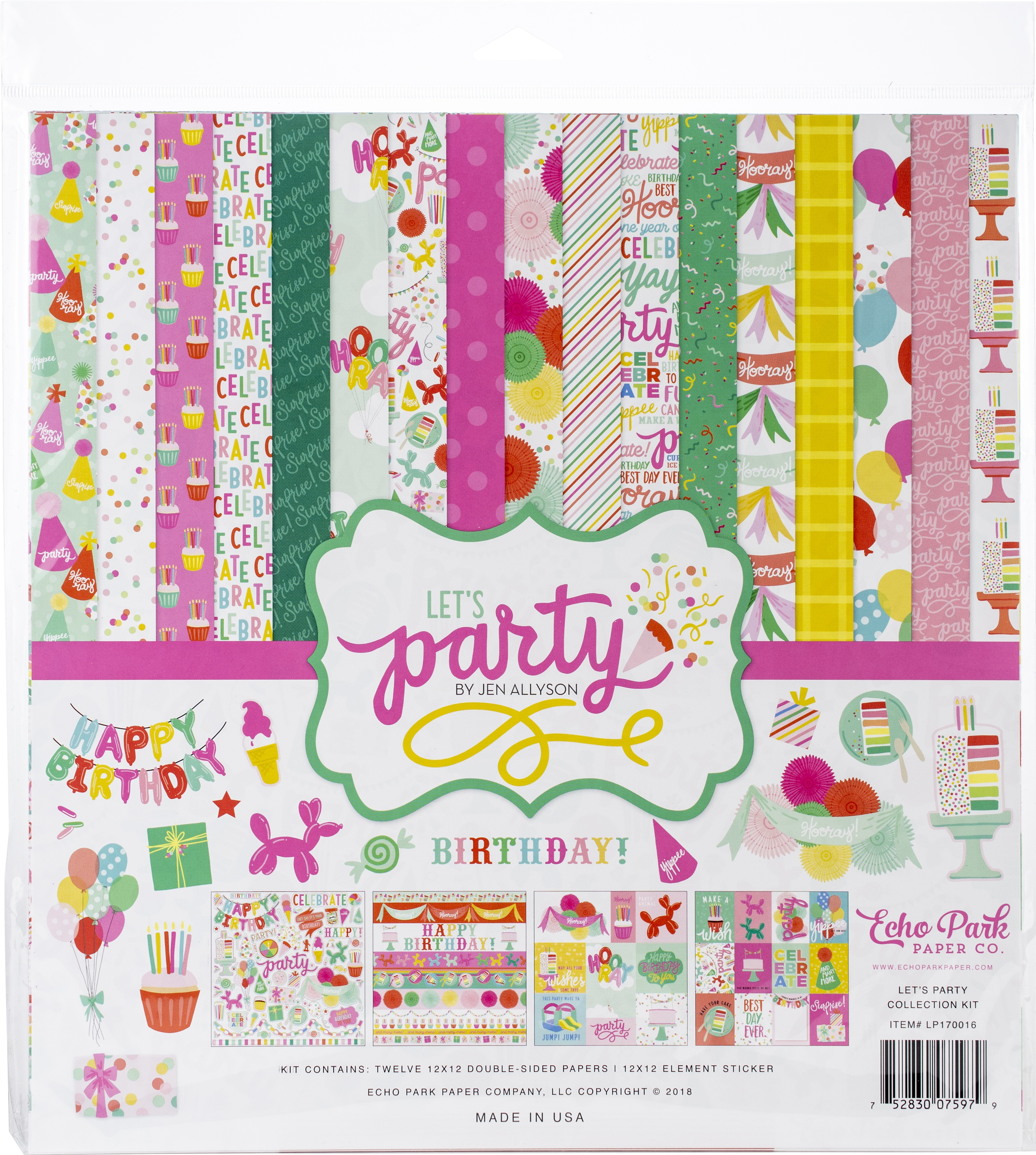 Let's Party - Echo Park Collection Kit 12X12