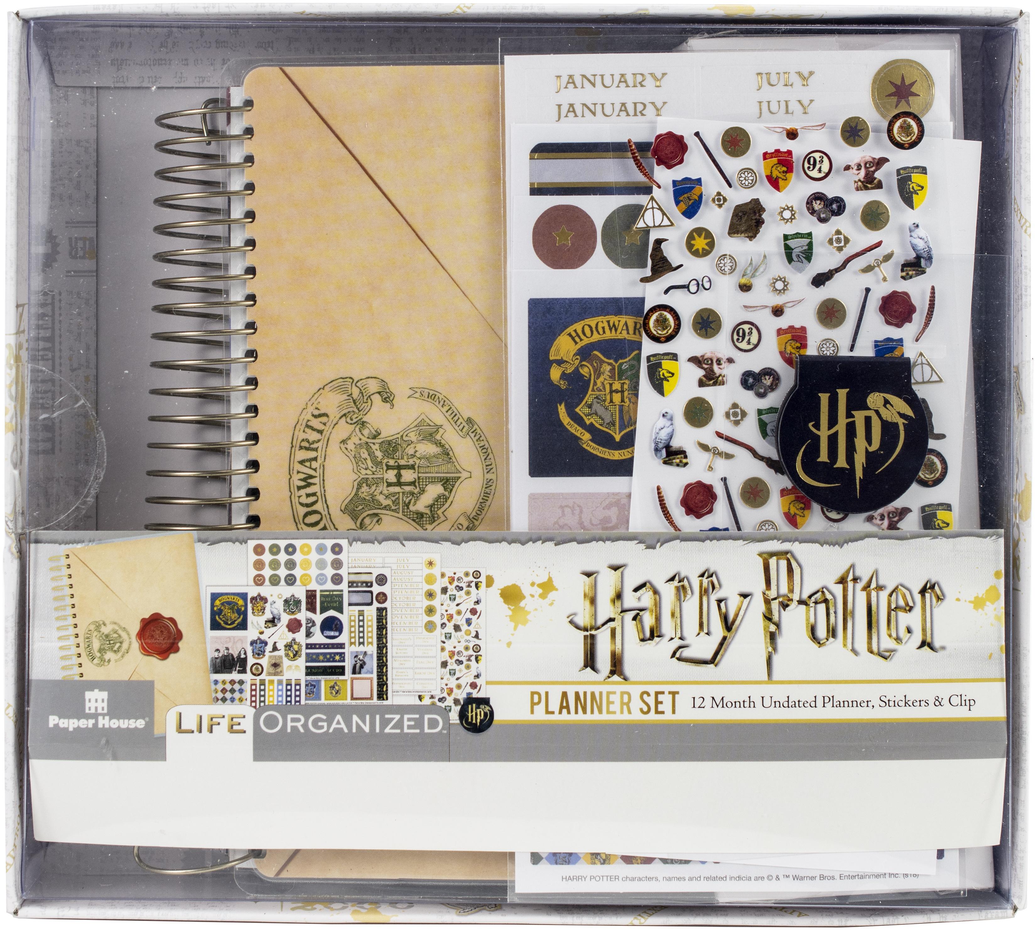 Harry Potter 12-Month Mini Planner Set