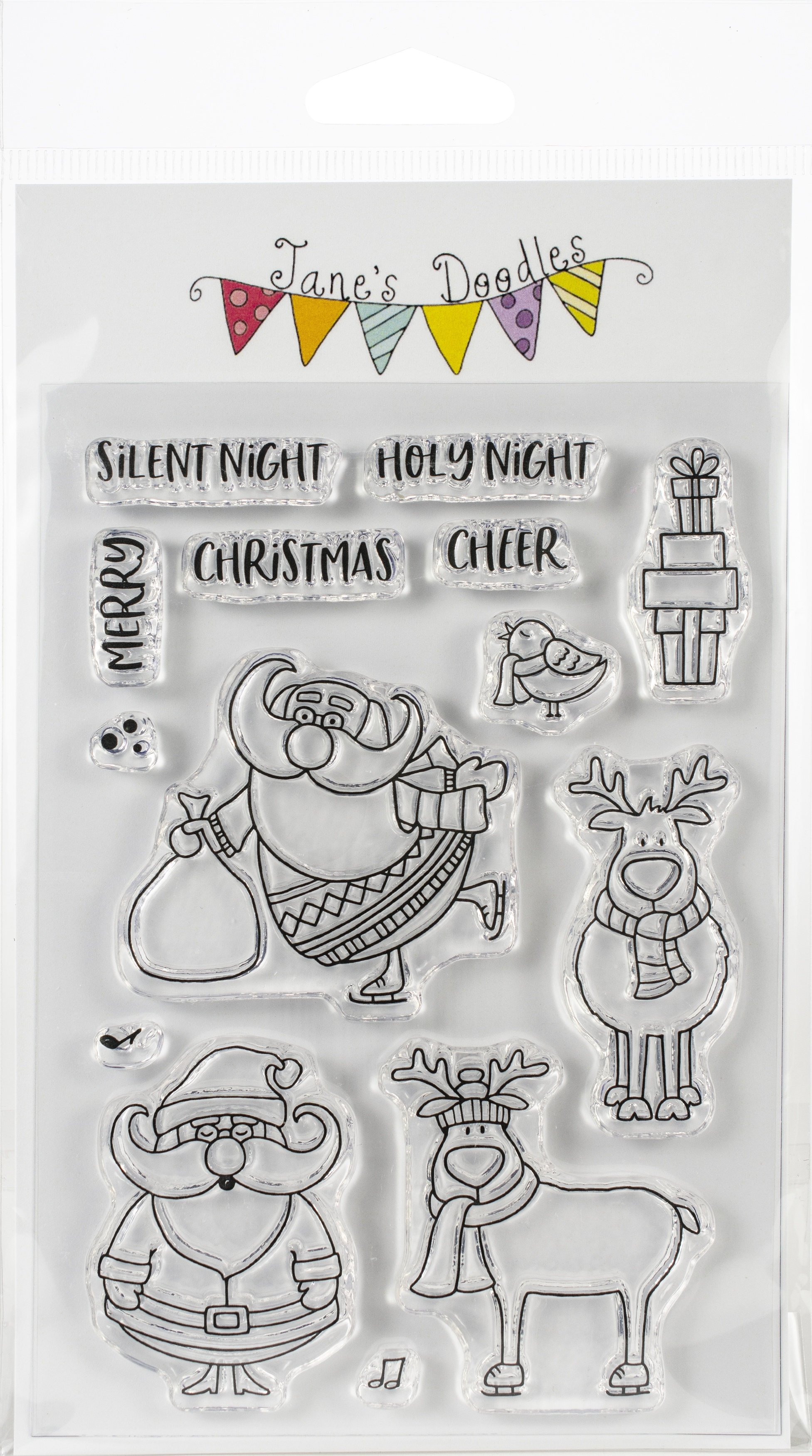 Jane's Doodles Clear Stamps 4X6-St