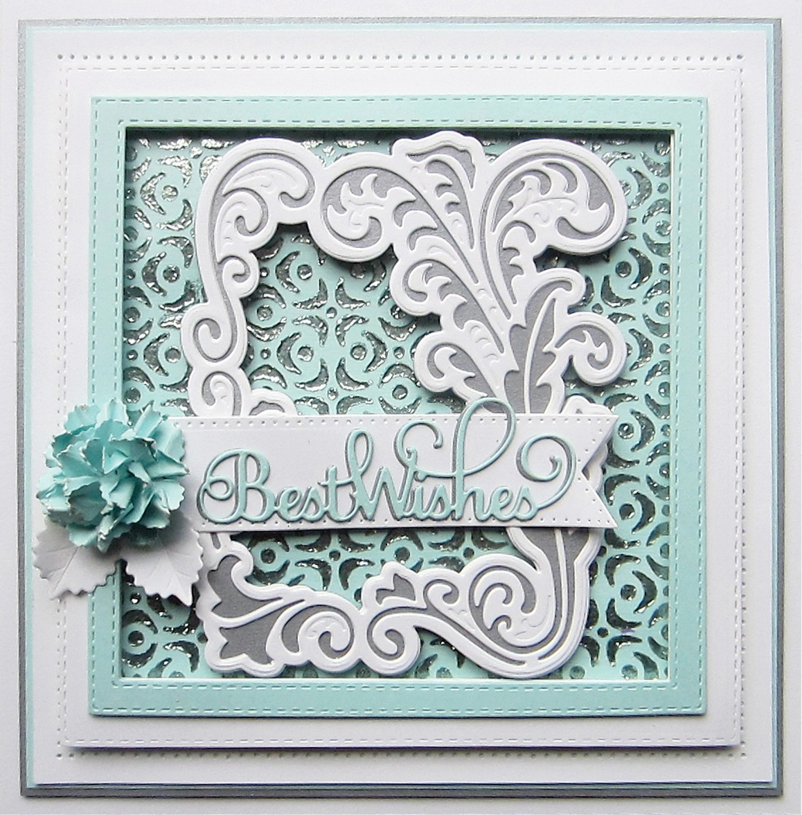 Creative Expressions Craft Dies By Sue Wilson-Mini Expressions-Best Wishes