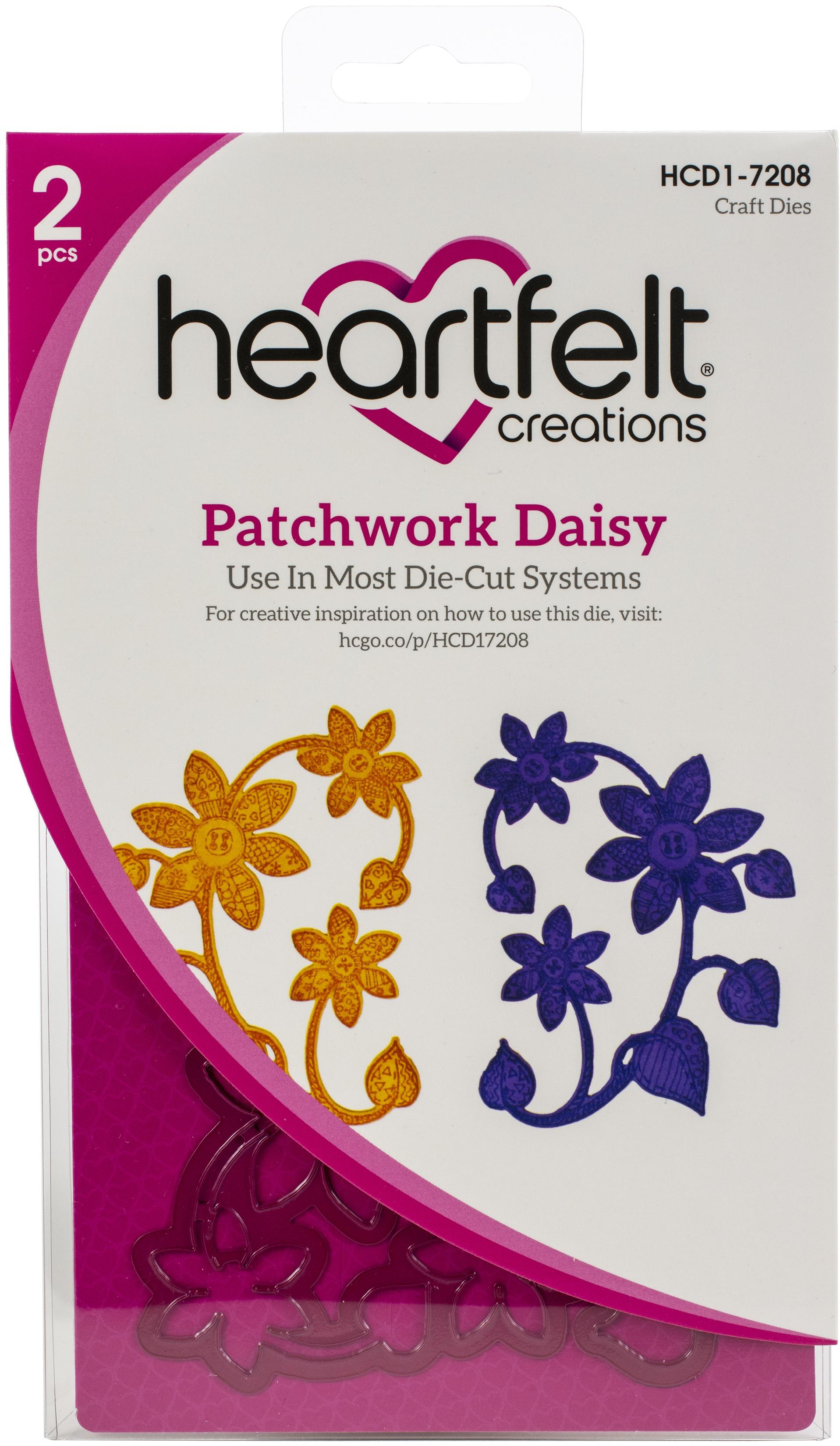 Patchwork Daisy Die