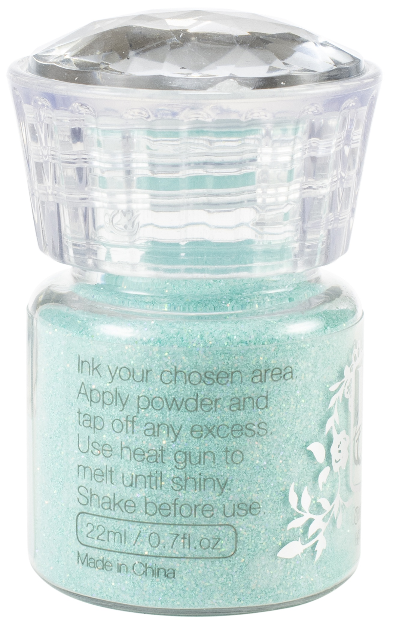 Nuvo Glitter Embossing Powder-Ocean Sparkle