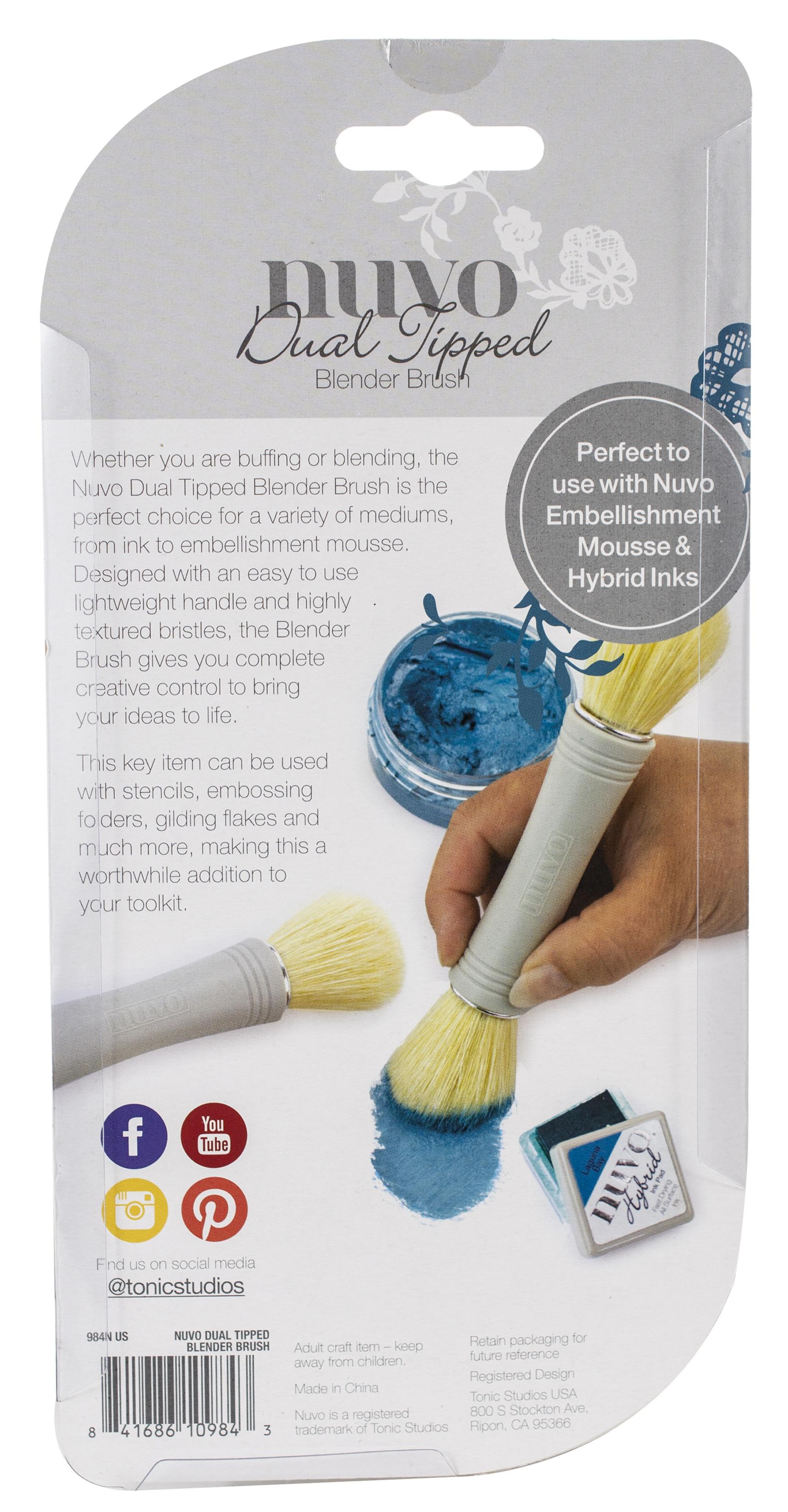 Dual Tipped Blender Brush