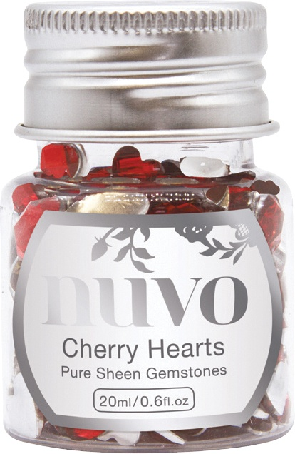 Gemstones - Cherry Hearts