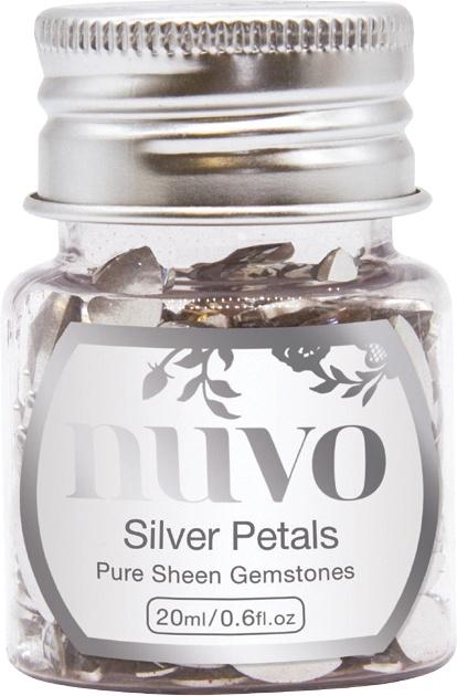 Gemstones - Silver Petals