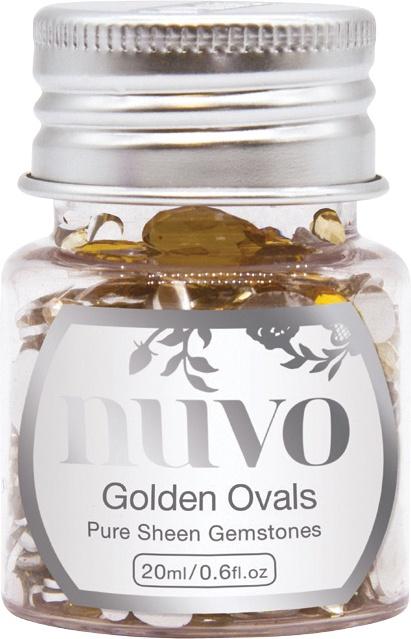 Gemstones - Golden Ovals