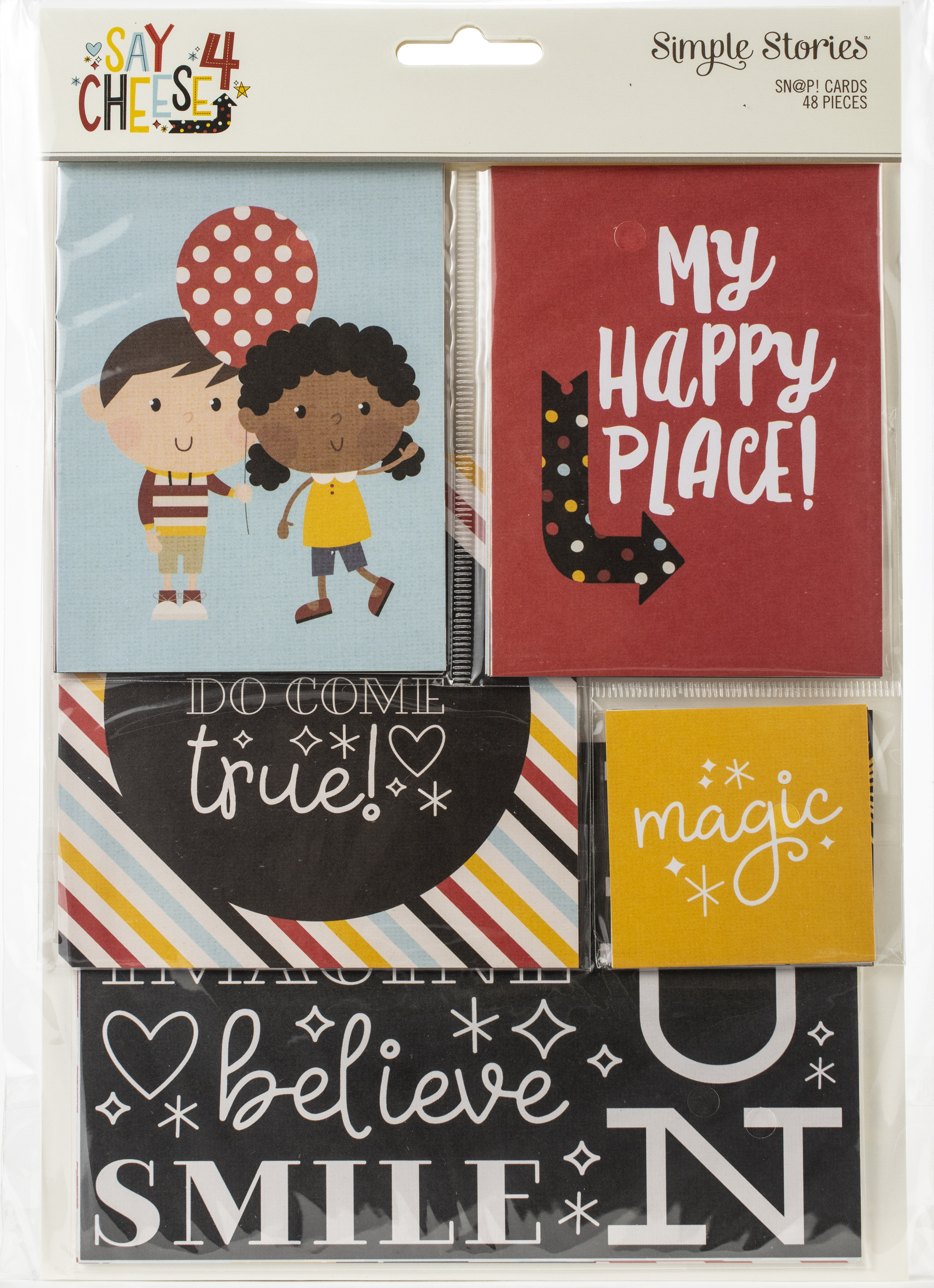 Simple Stories Sn@p! Card Pack 48/Pkg-Say Cheese 4