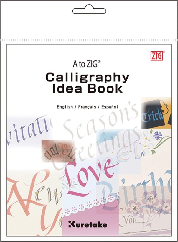 A to ZIG Calligraphy Idea Book-