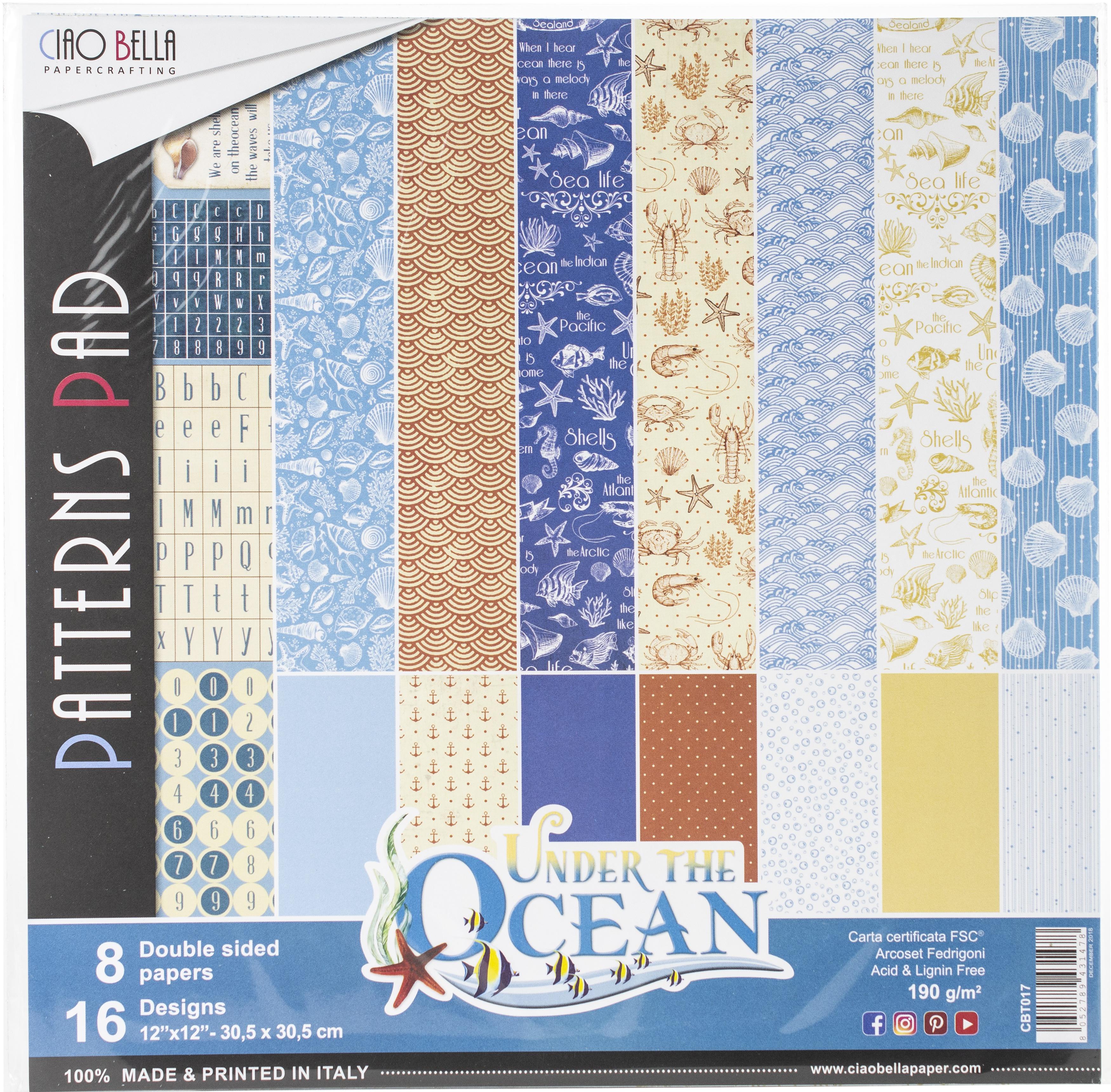 under the ocean paper pack
