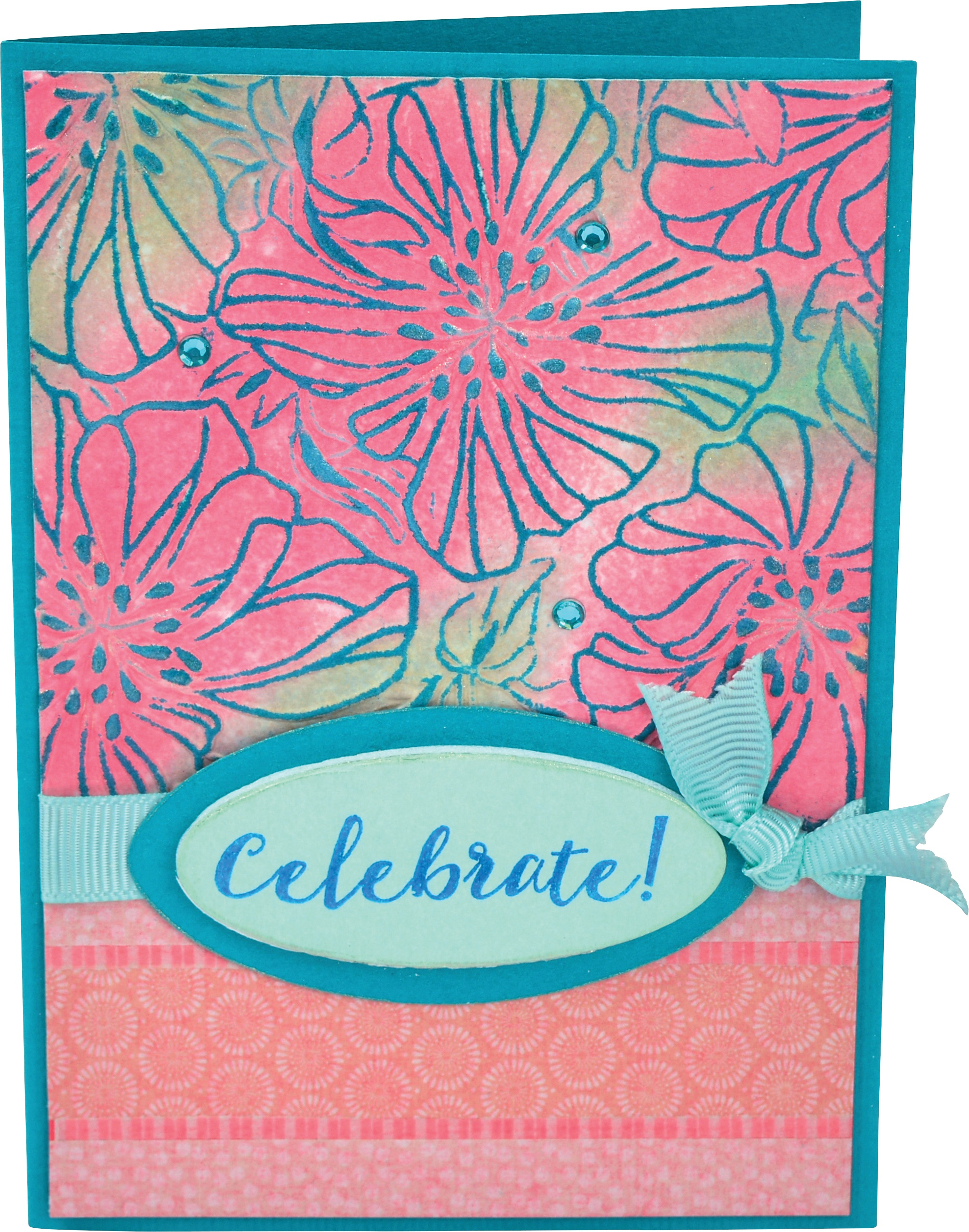 Sizzix 3D Impresslits Embossing Folder By Courtney Chilson-Azaleas