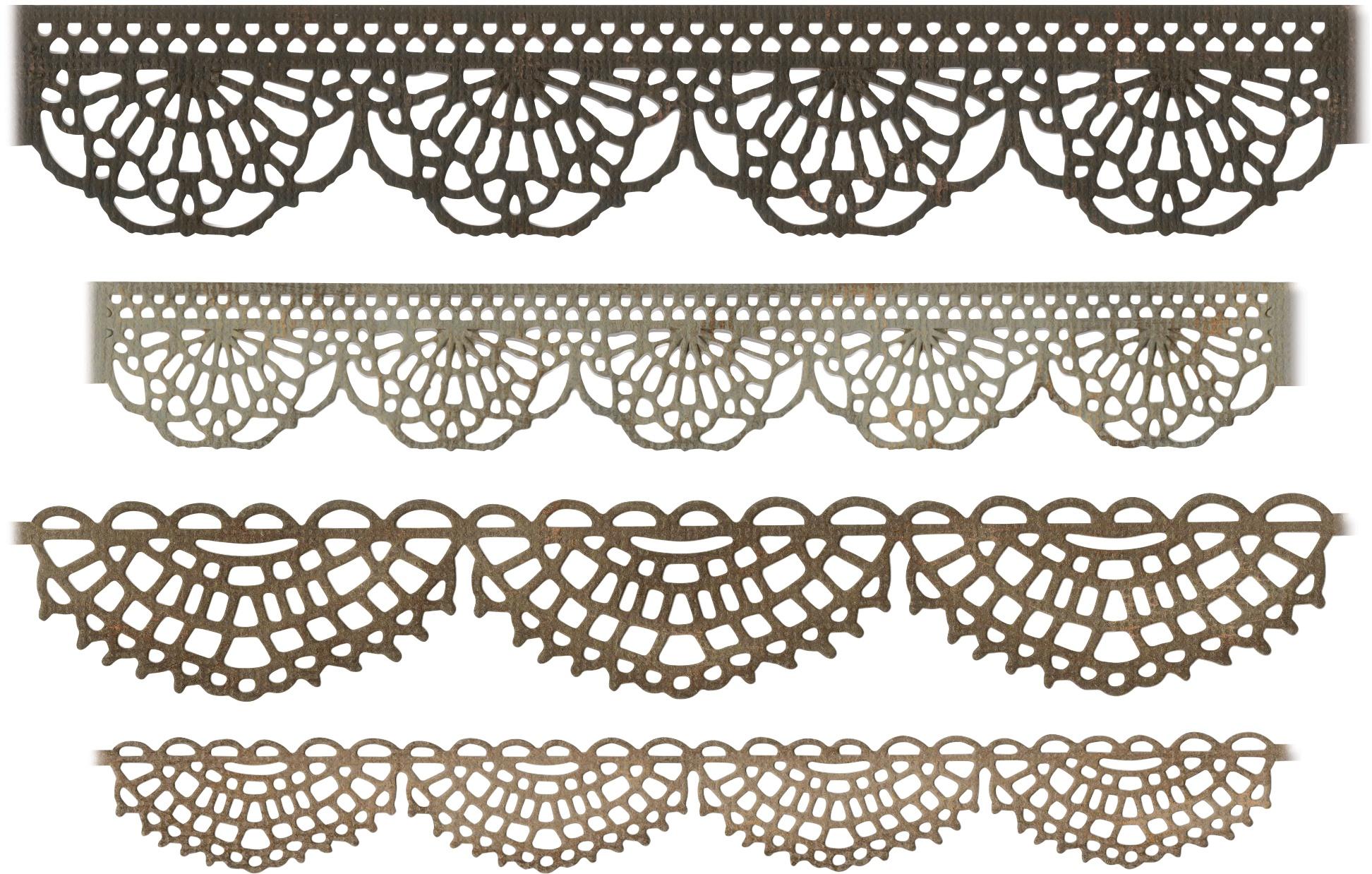 Sizzix Thinlits Dies By Tim Holtz 4/Pkg-Crochet