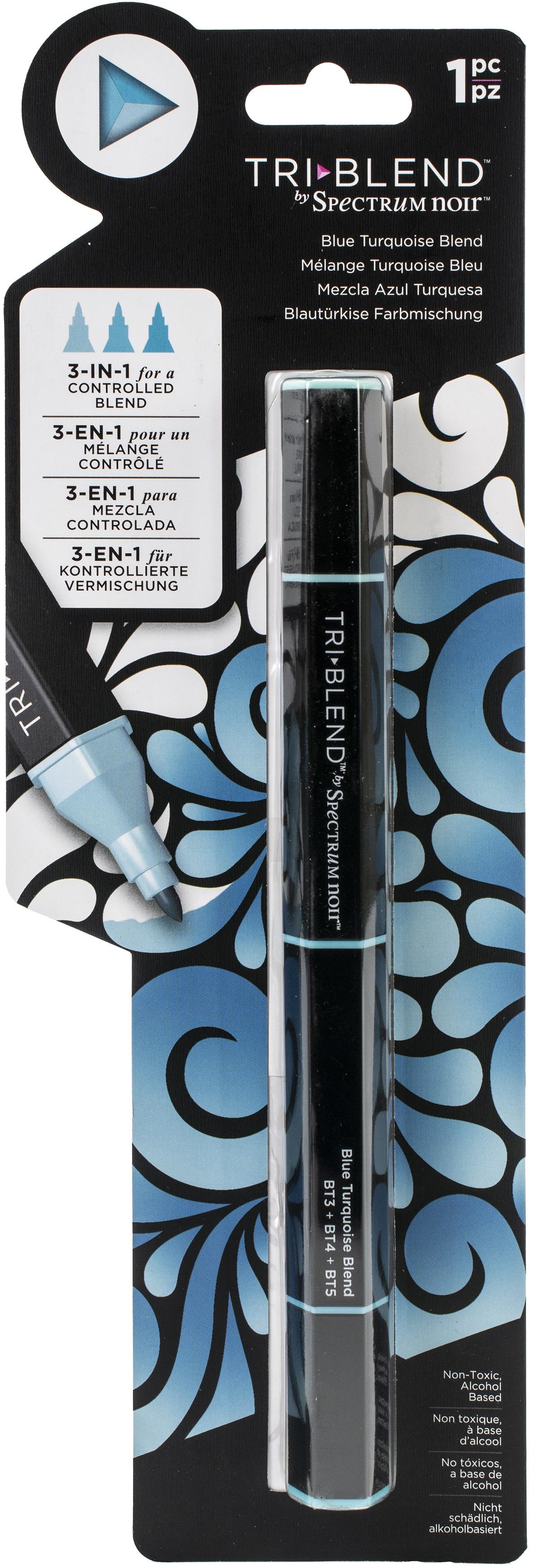 Spectrum Noir - Triblend Marker - Blue Turquoise Blend