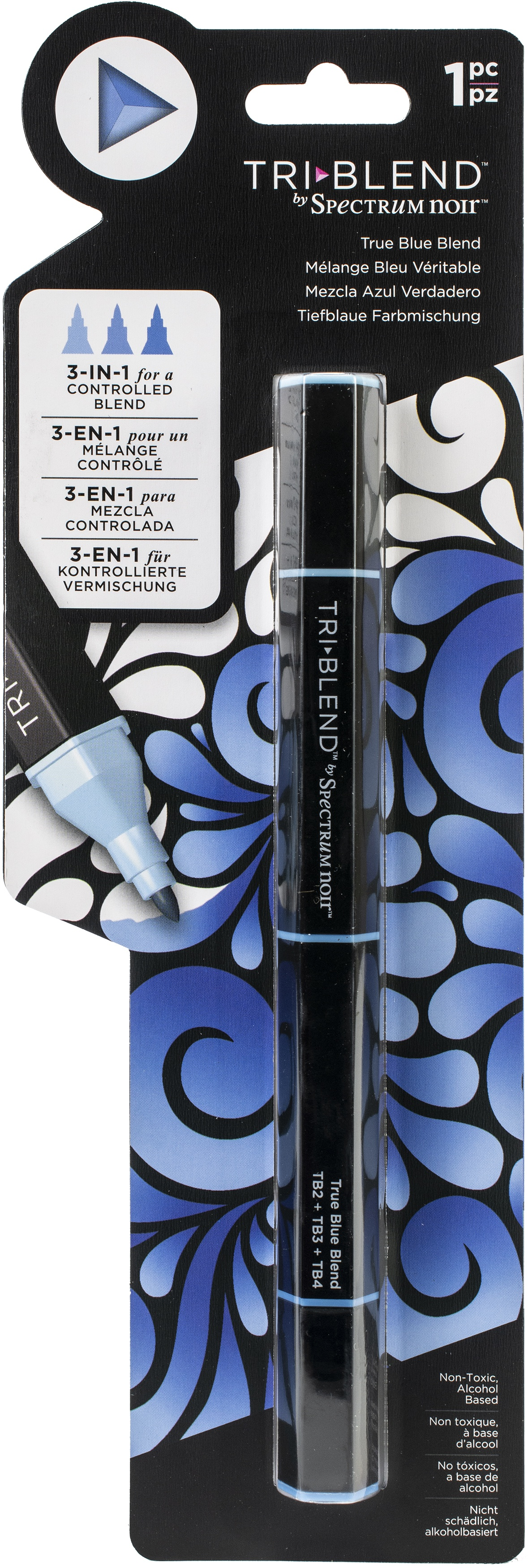 Spectrum Noir Triblend Marker-True Blue Blend