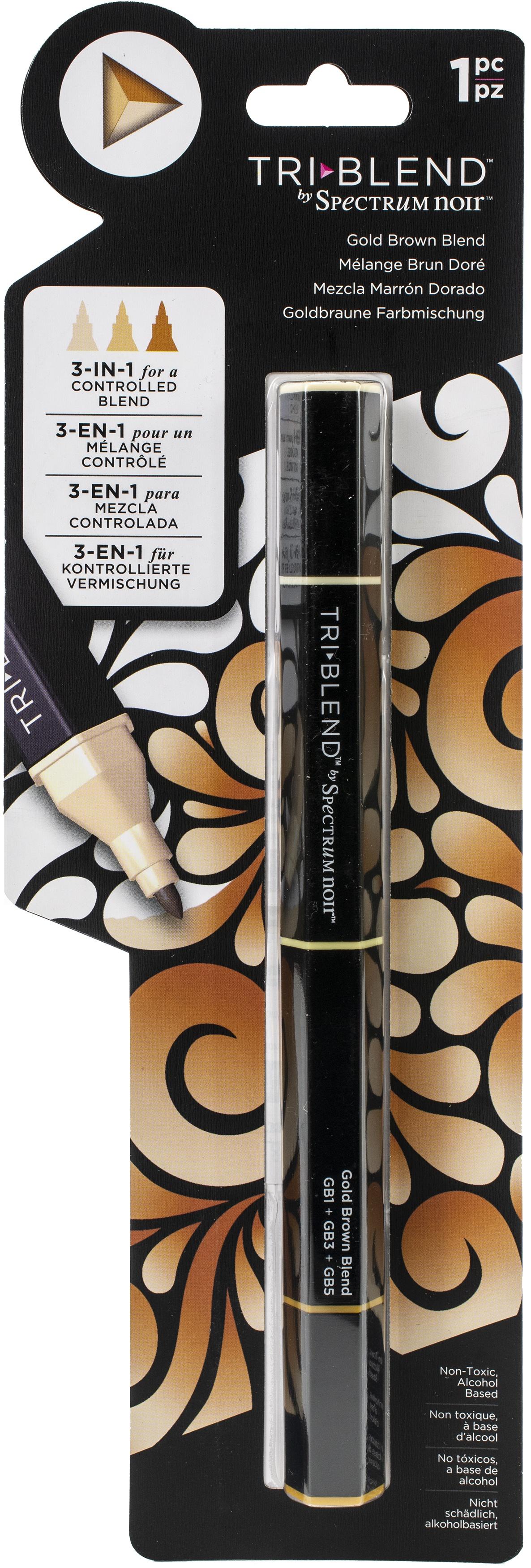 Spectrum Noir Triblend Marker-Gold Brown Blend