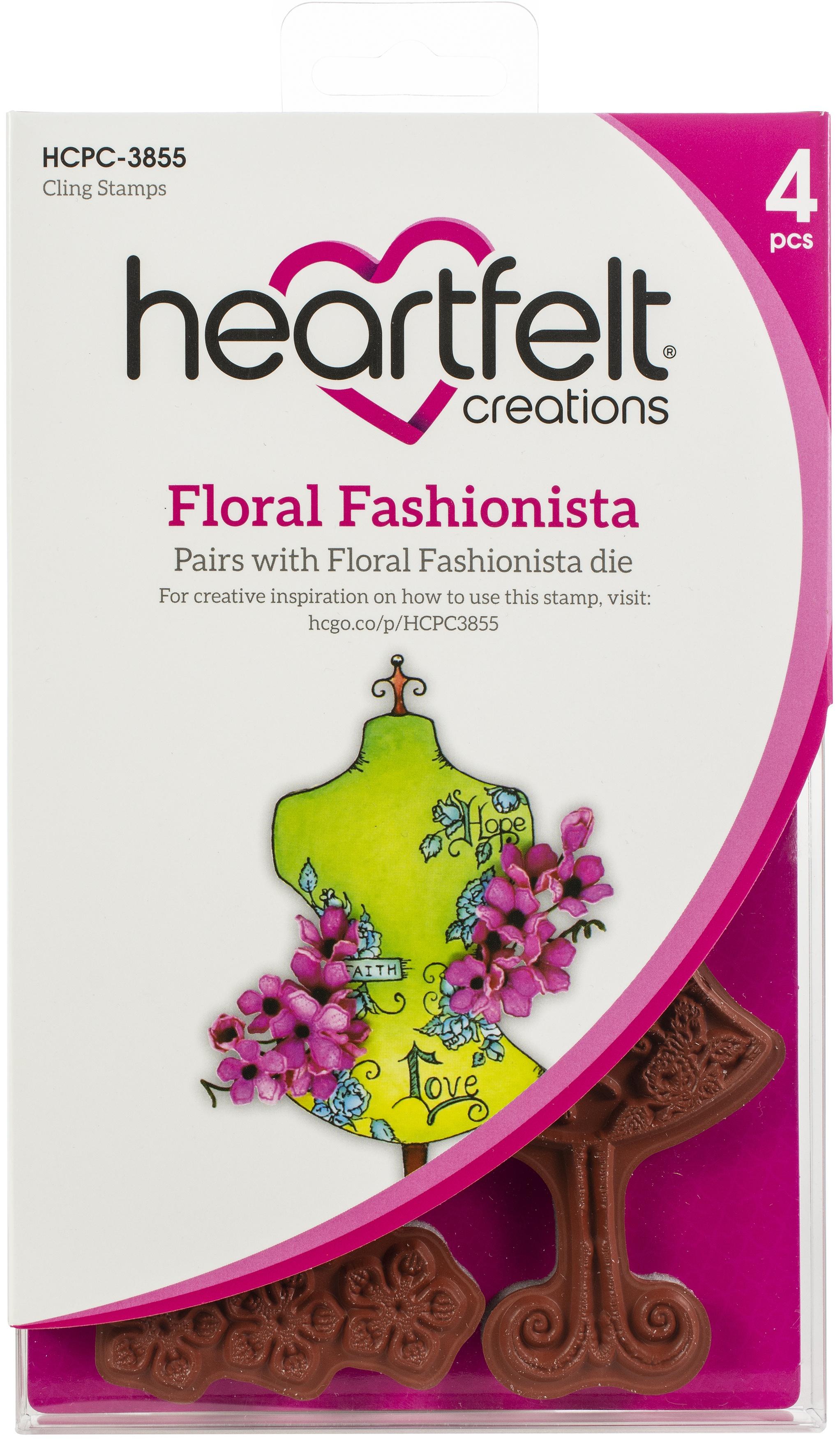 Heartfelt Creations Floral Fashionista Bundle (Stamp & Die)
