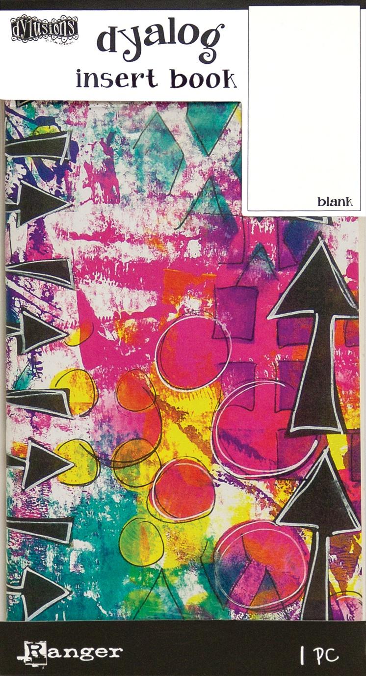 Dyan Reaveley's Dylusions Dyalog Insert Book 4.375X8.25-Blank #2