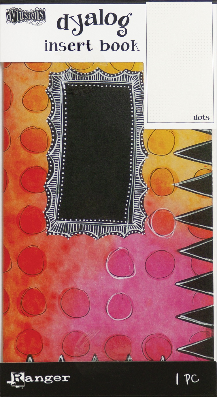 Dyan Reaveley's Dylusions Dyalog Insert Book 4.375X8.25-Dots #2
