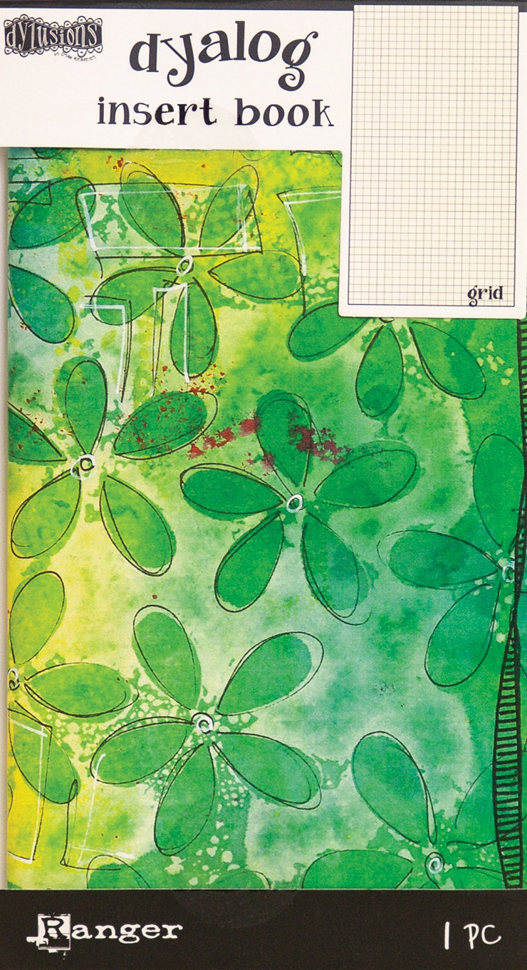 Dyan Reaveley's Dylusions Dyalog Insert Book 4.375X8.25-Grid #2