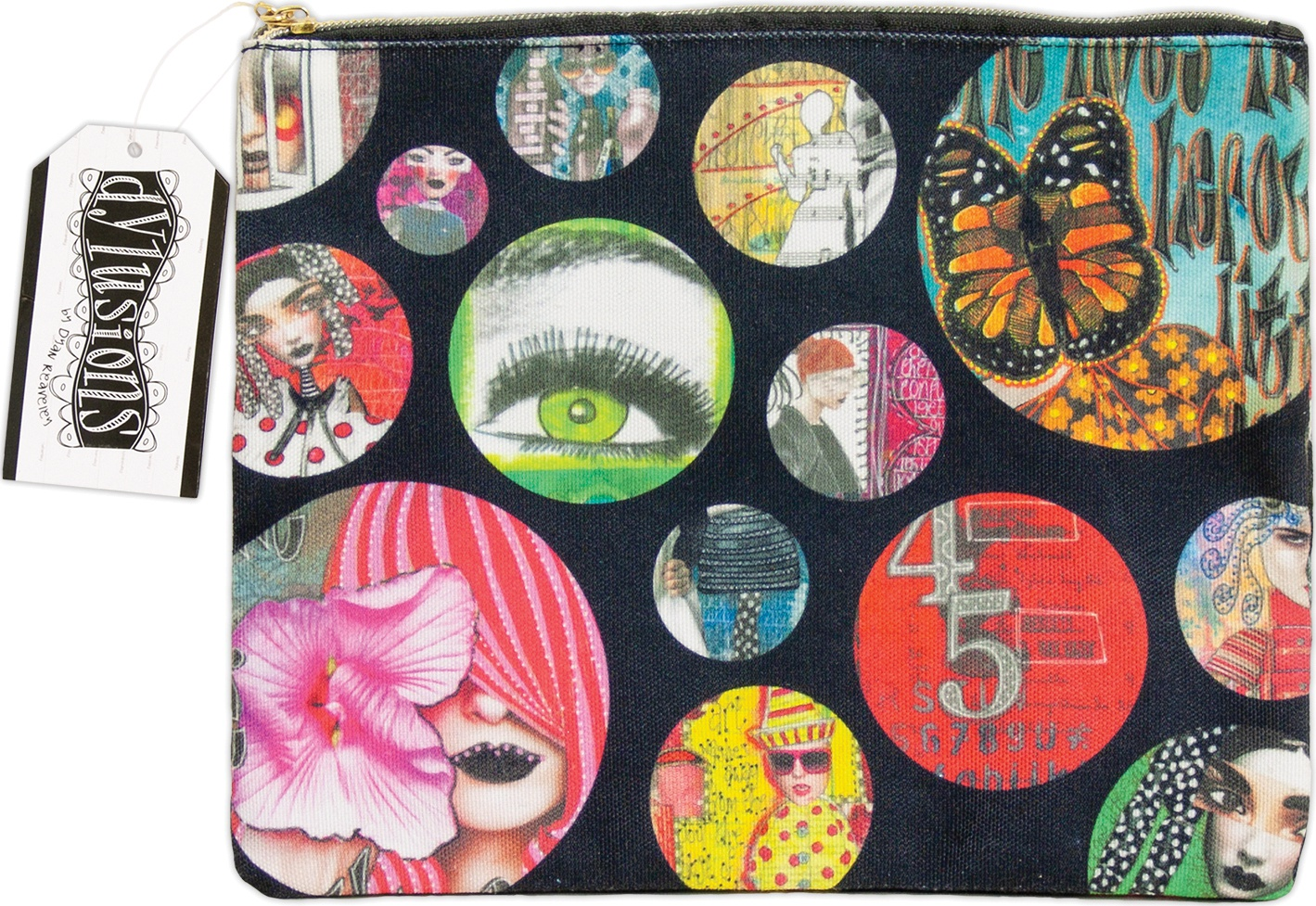 Dyan Reaveley's Dylusions Accessory Bag-Large