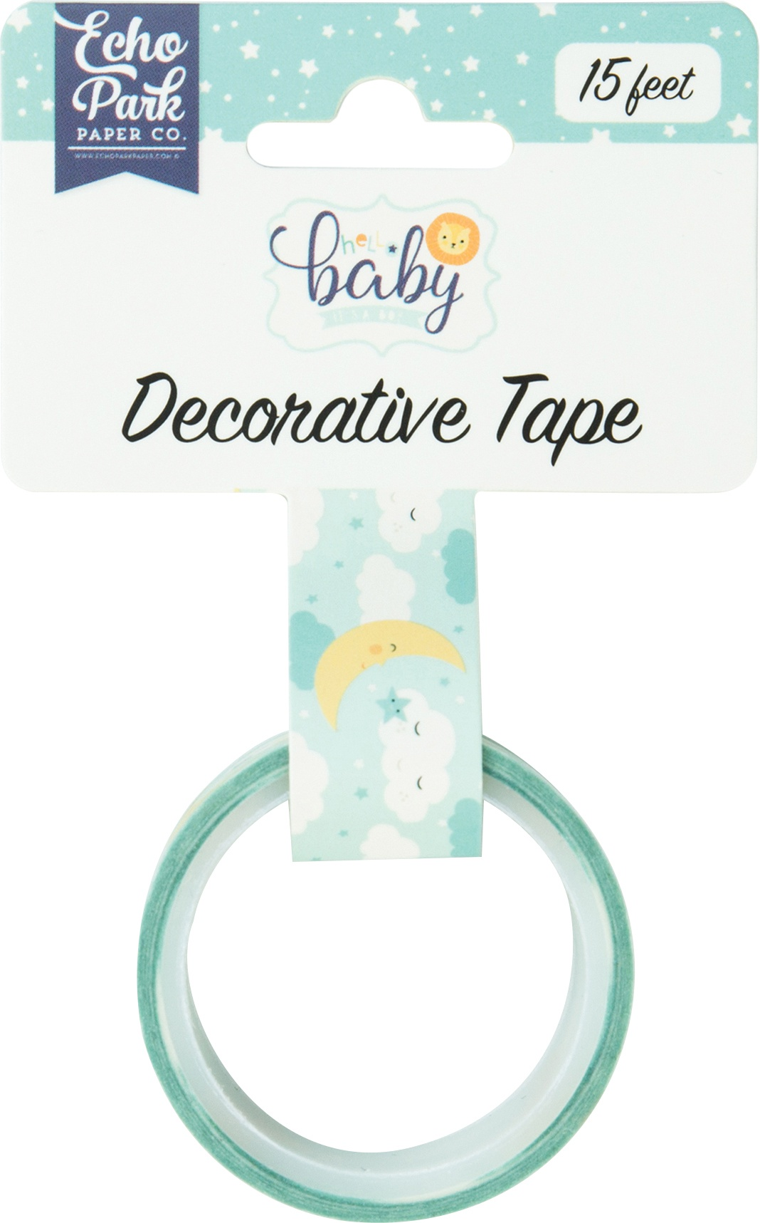 EMB - HELLO BABY IT'S A BOY WASHI TAPE SLEEP TIGHT