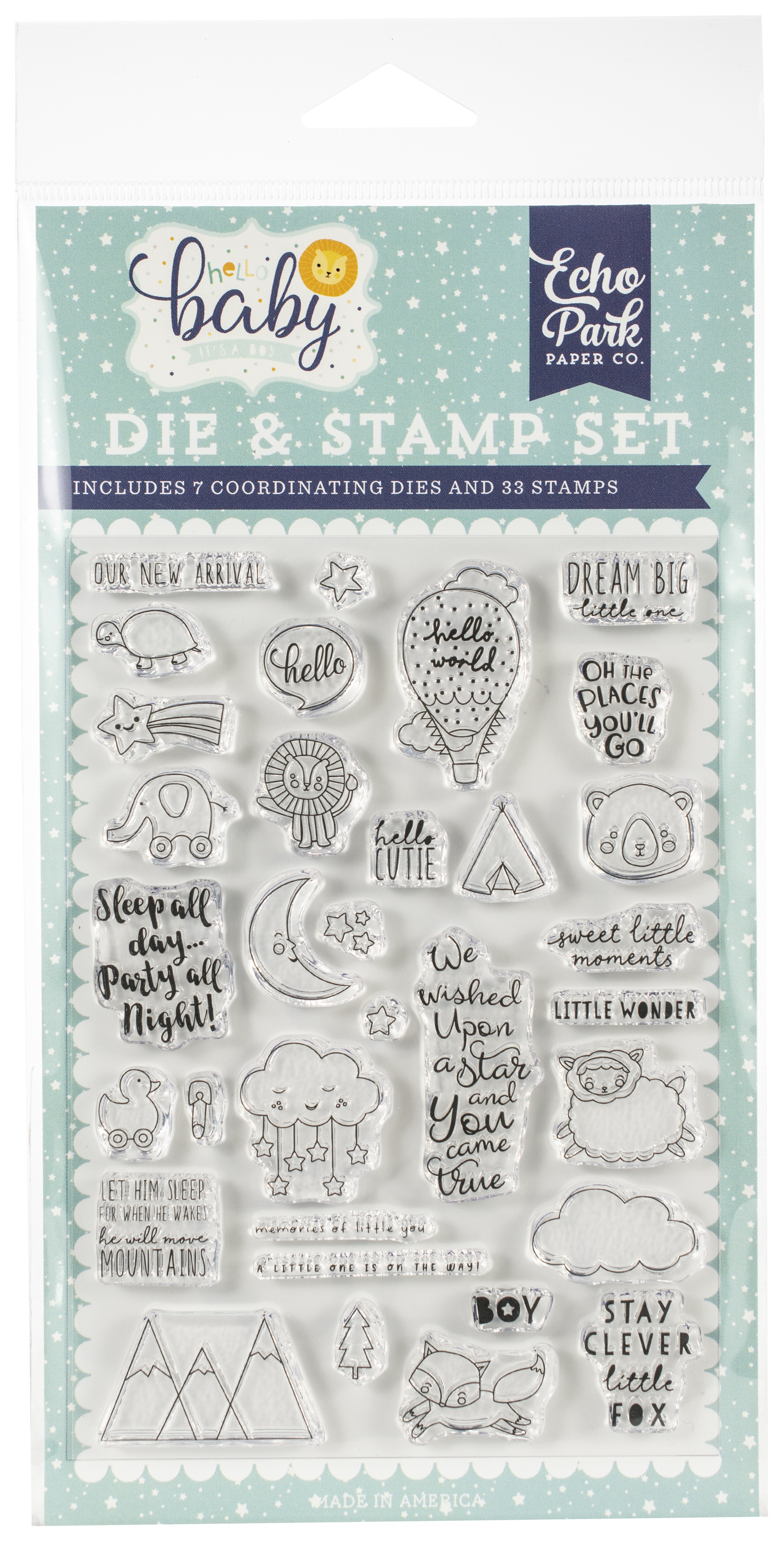 DIE/STAMP - NEW ARRIVAL