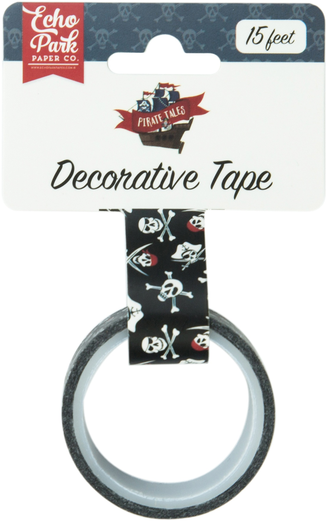 EP Pirate Tales Jolly Roger Washi