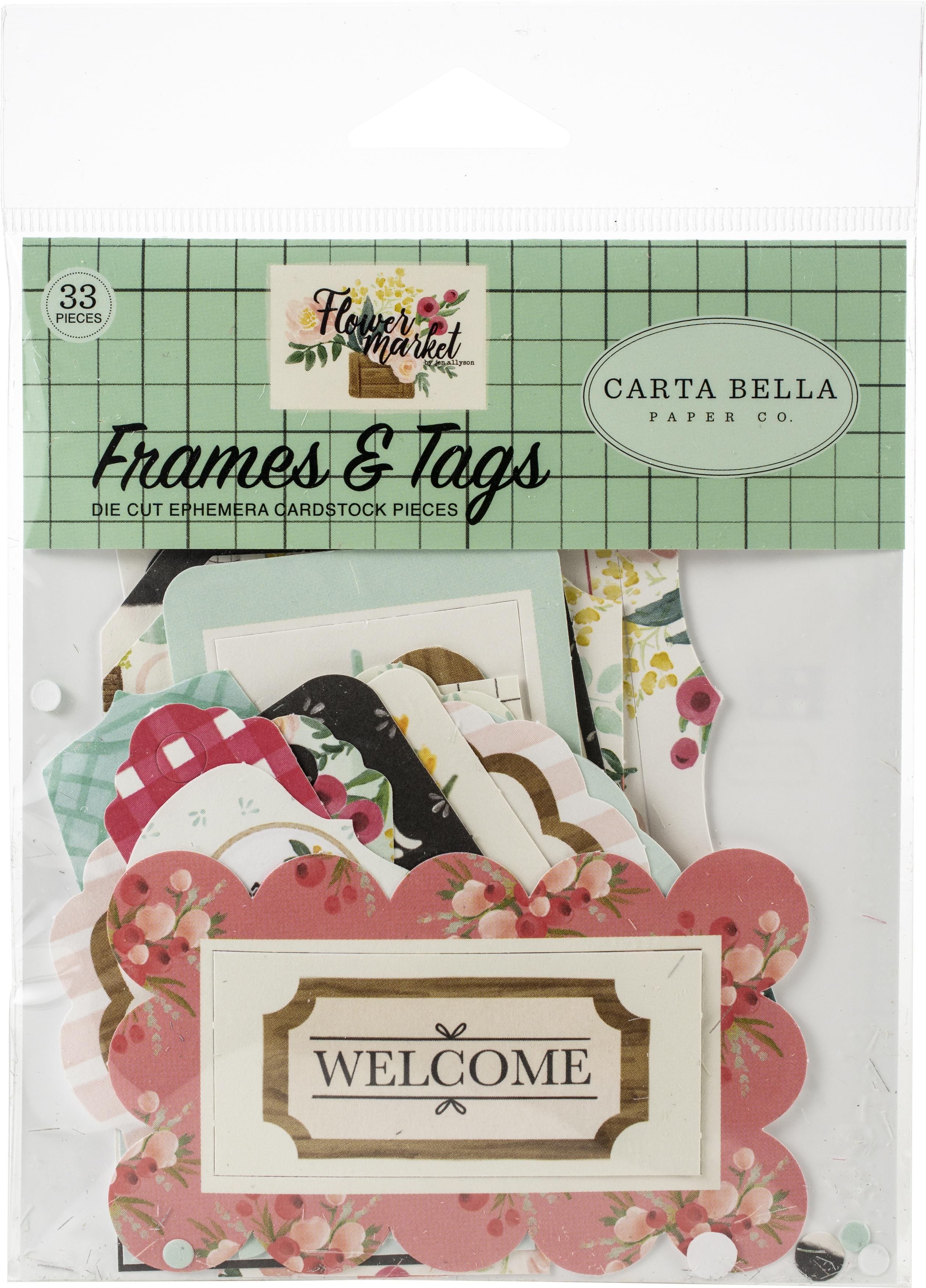 CB Frames & Tags Flower Market