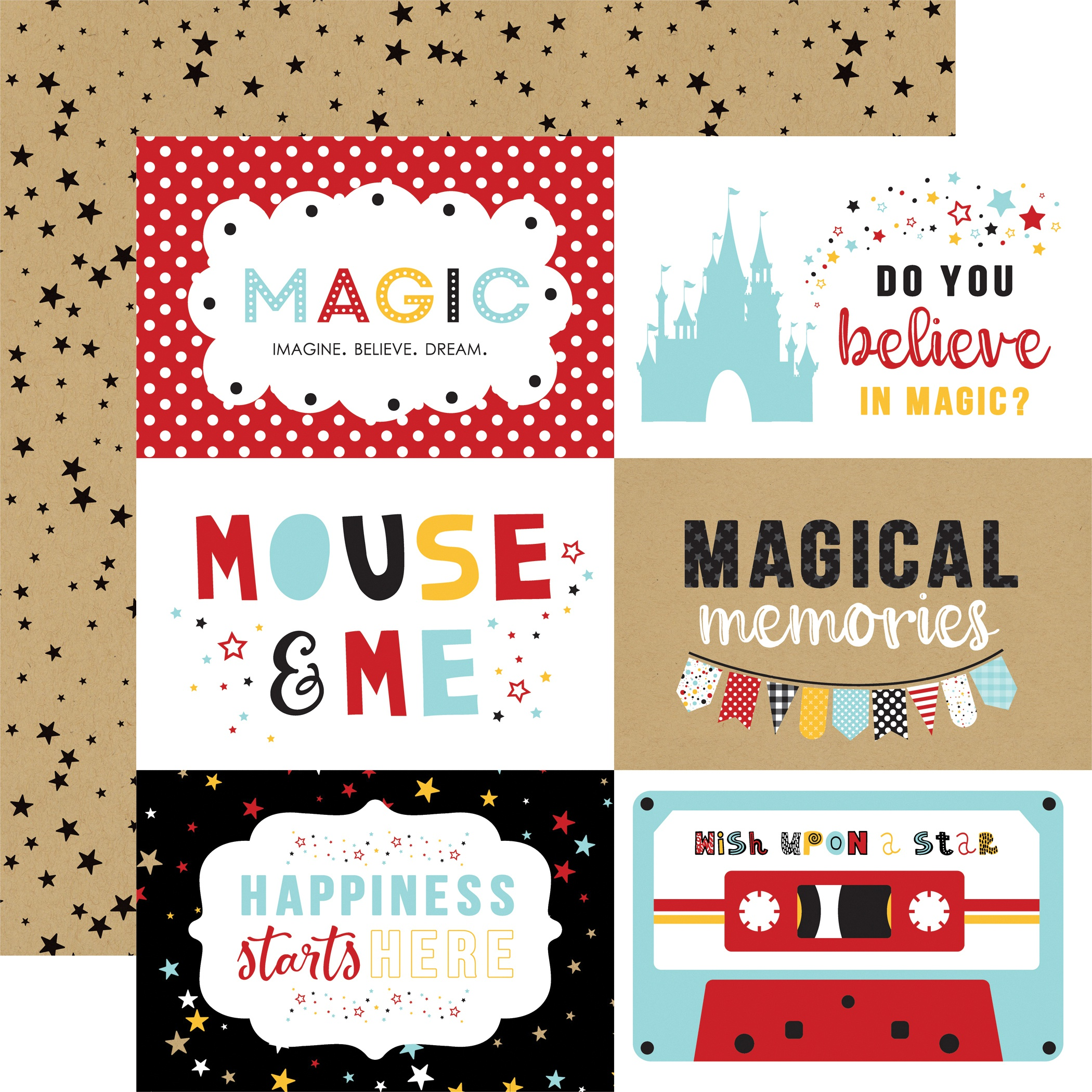 EP Magical Adventure 2 6x4 Journaling Cards