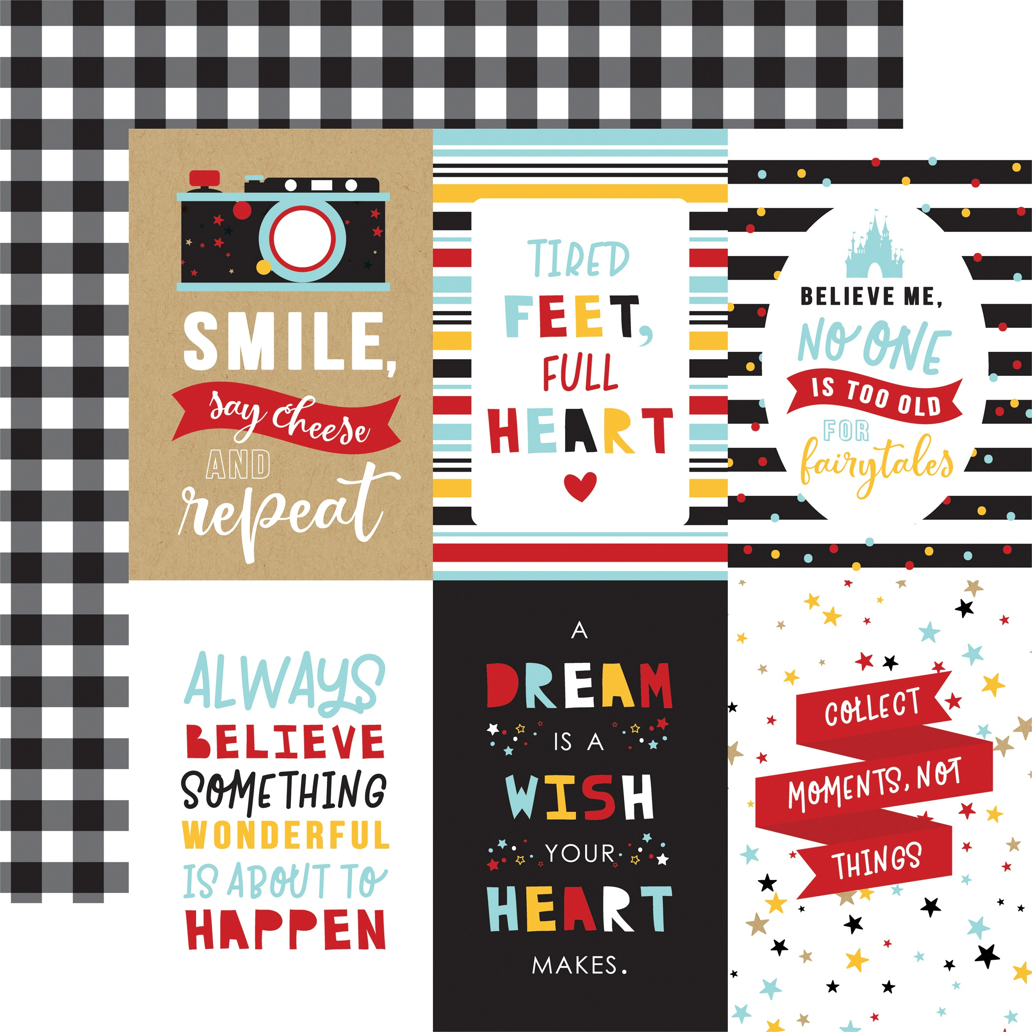 Magical Adventure 2 Double-Sided Cardstock 12X12-4X6 Journaling Cards