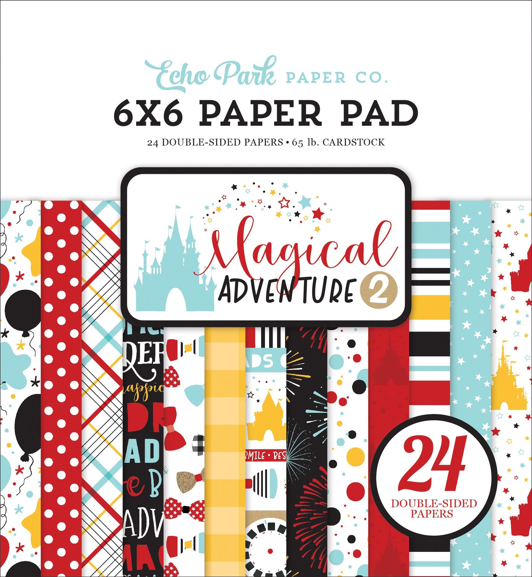 Echo Park Magical Adventure 2 Paper Pad 6x6