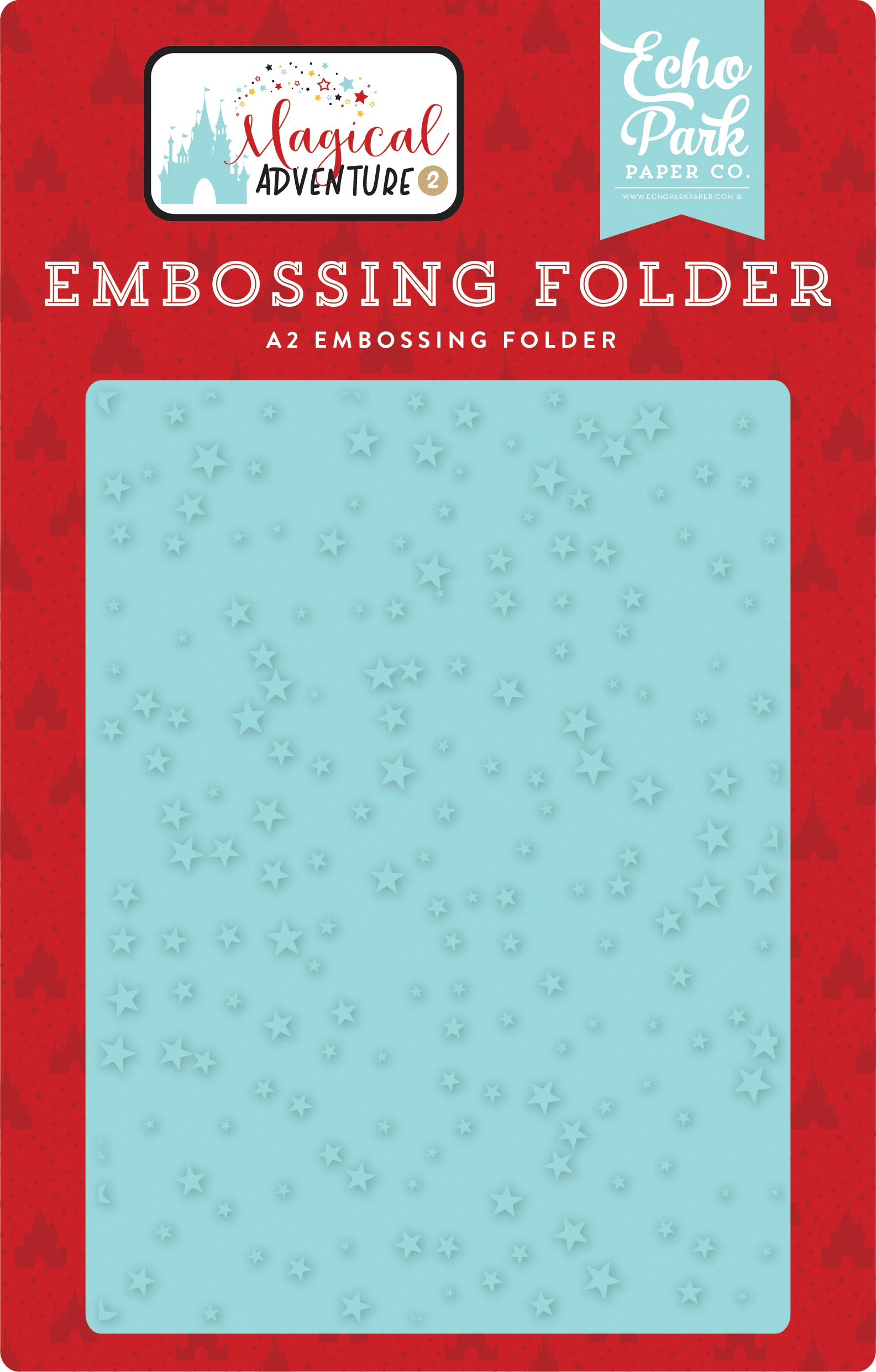 Echo Park Embossing Folder A2-Make A Wish