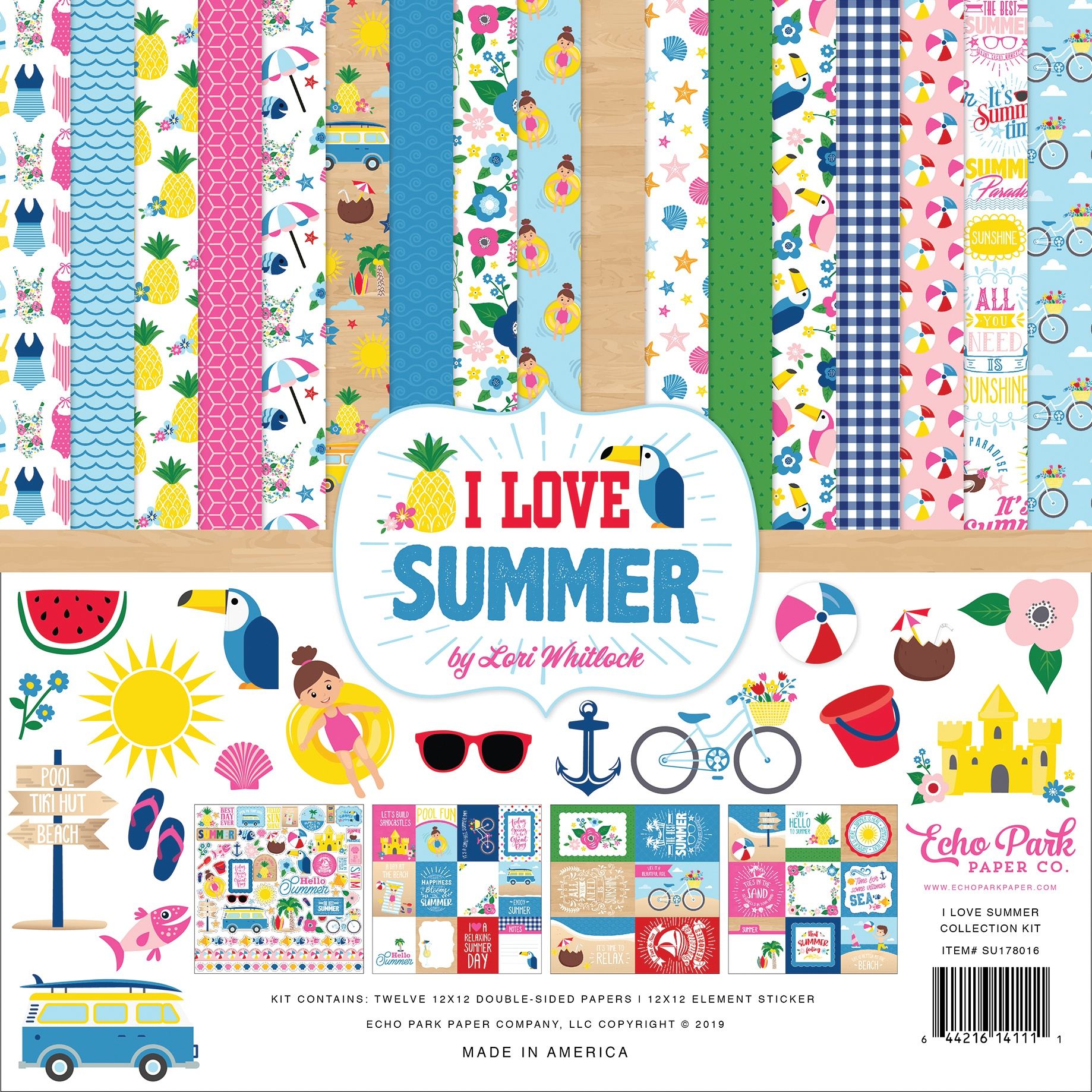 I Love Summer Collection Kit 12X12