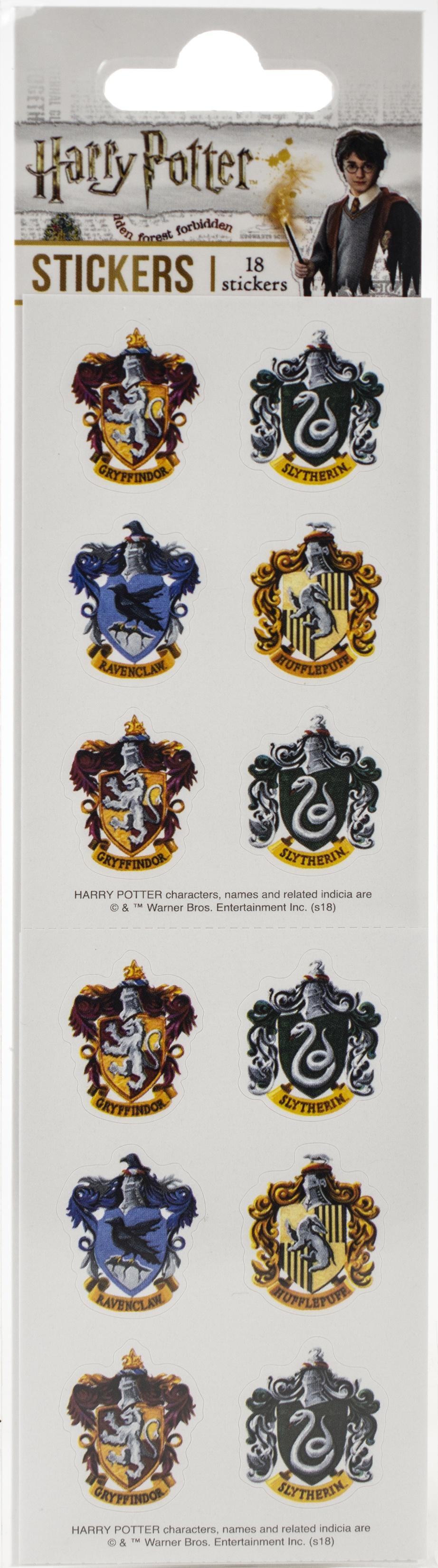 Paper House Sticker Sheets 2X8 3/Pkg-Harry Potter Crests