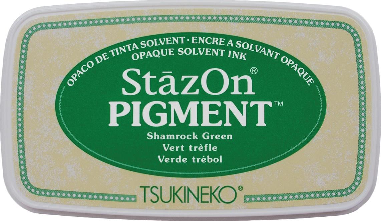 StazOn Pigment Ink Pad-Shamrock Green