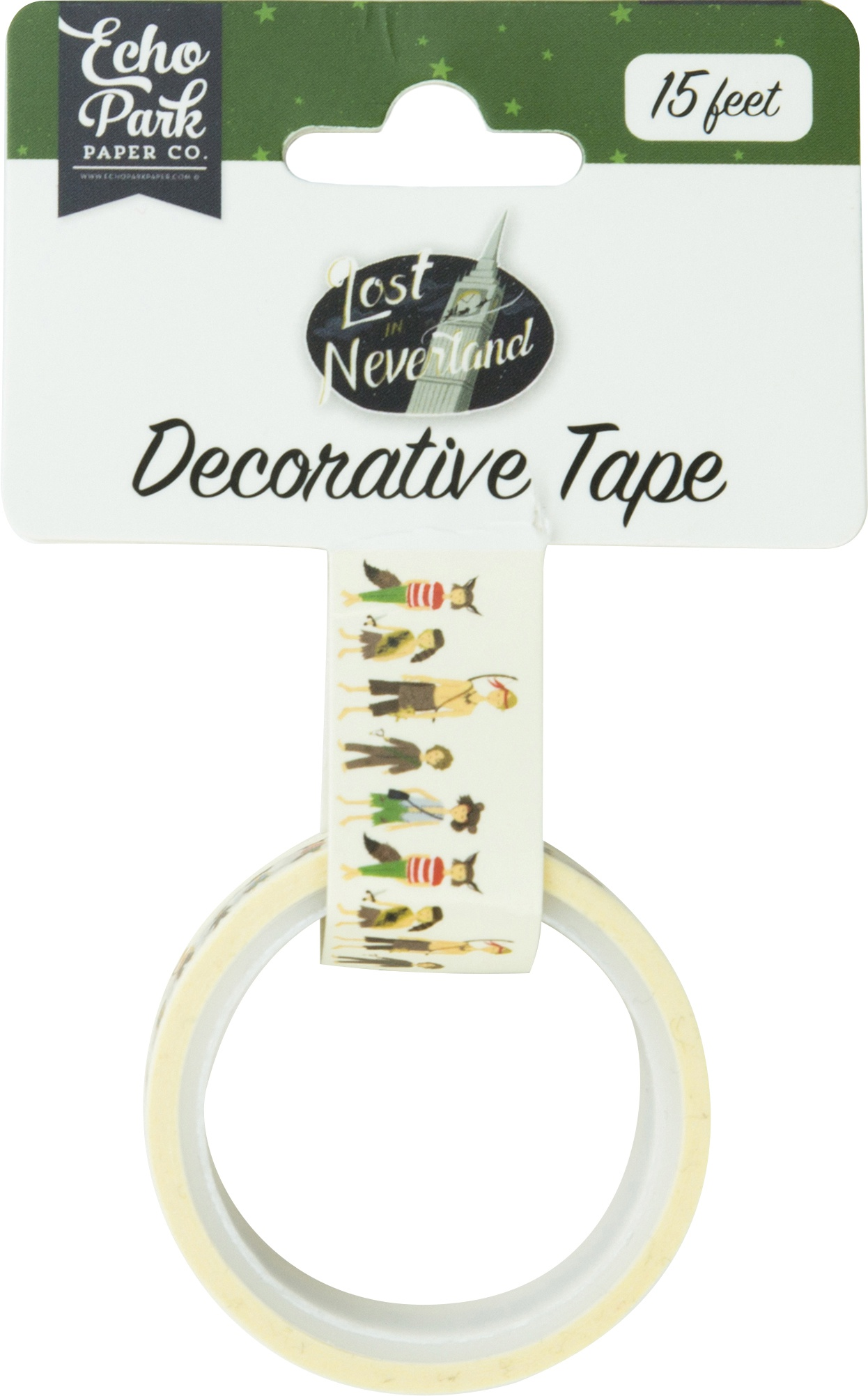 Lost In Neverland Decorative Tape 15'-Lost Boys