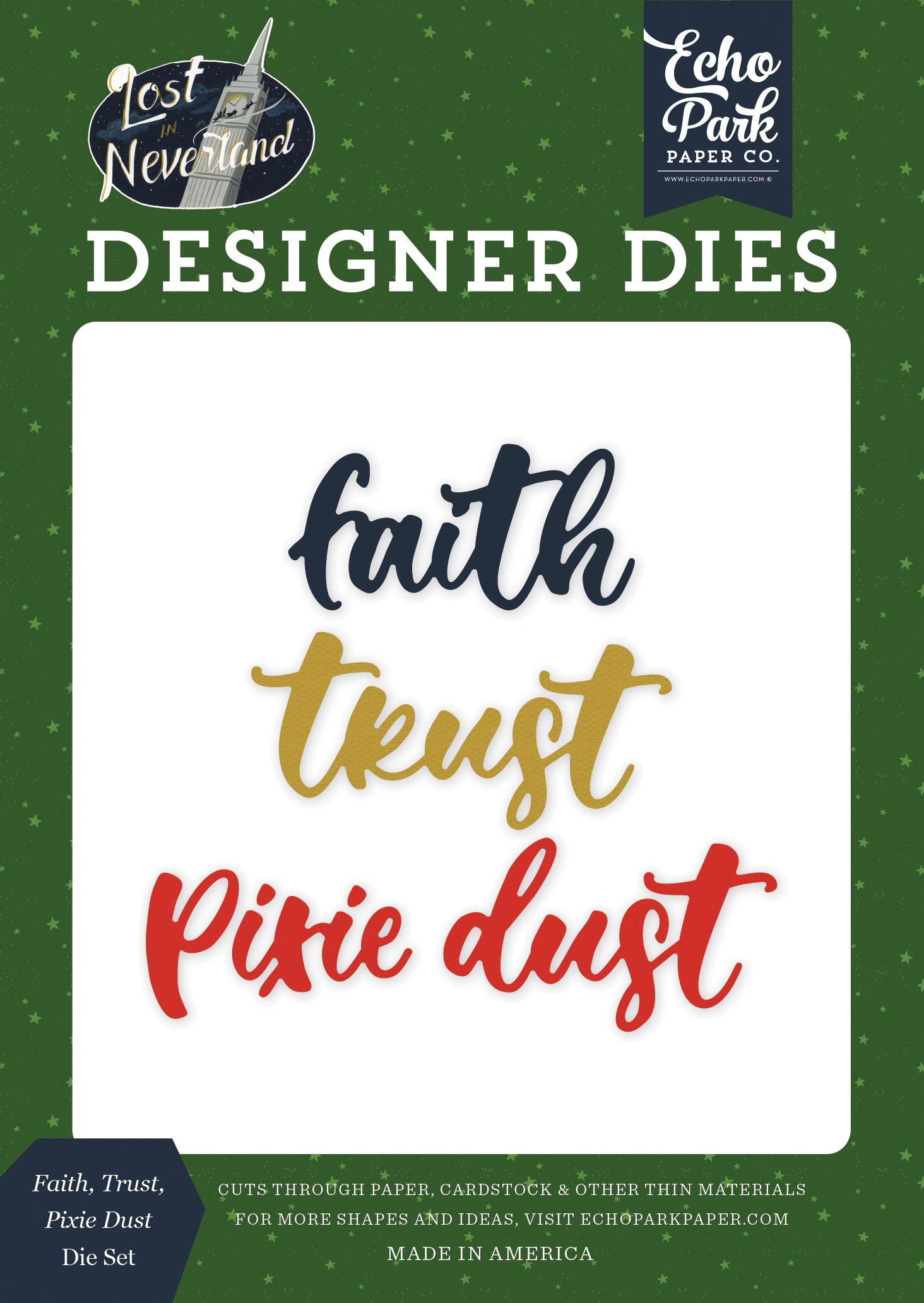 EP NL Faith Trust Pixie Dust Die