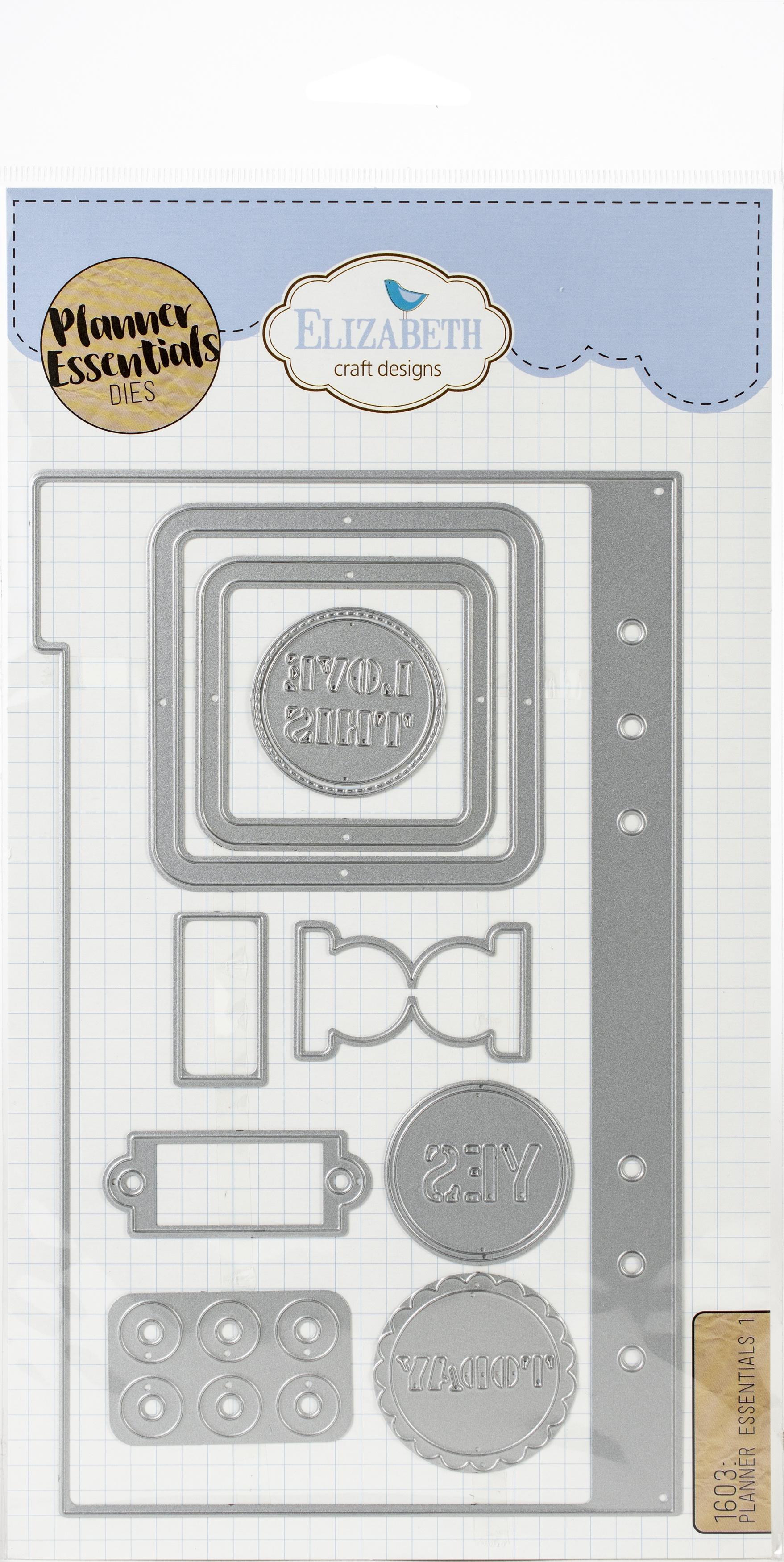 Elizabeth Craft Metal Die-Planner Essentials 1