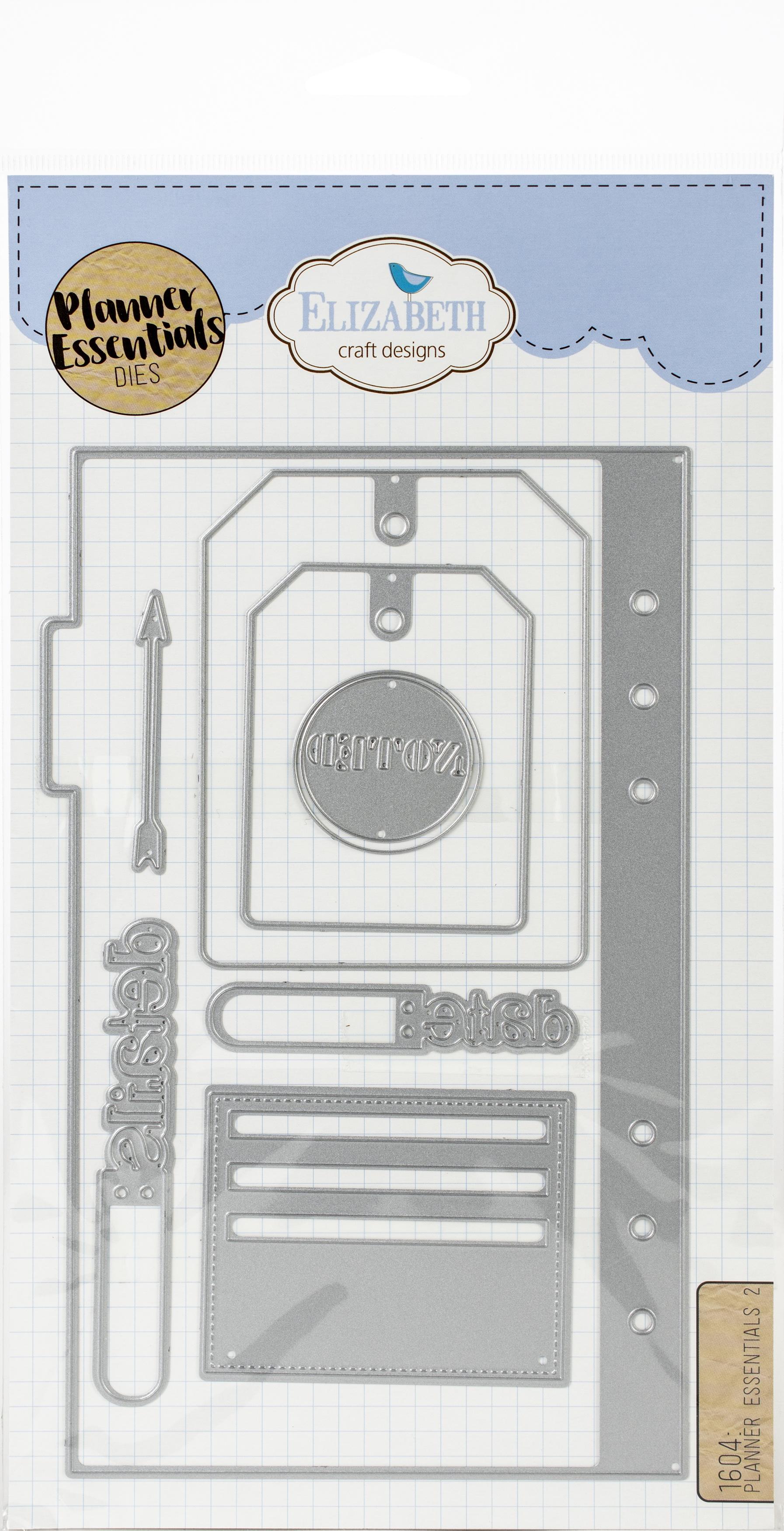 Elizabeth Craft Metal Die-Planner Essentials 2